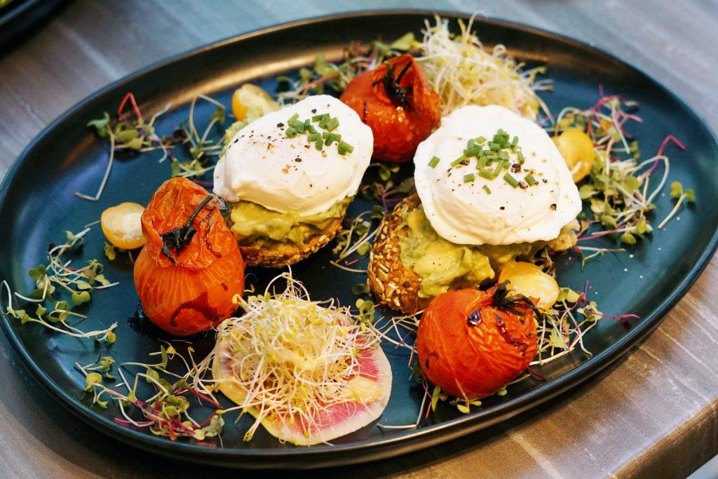 Avocado & Microgreens Tartines LaMuse Cafe