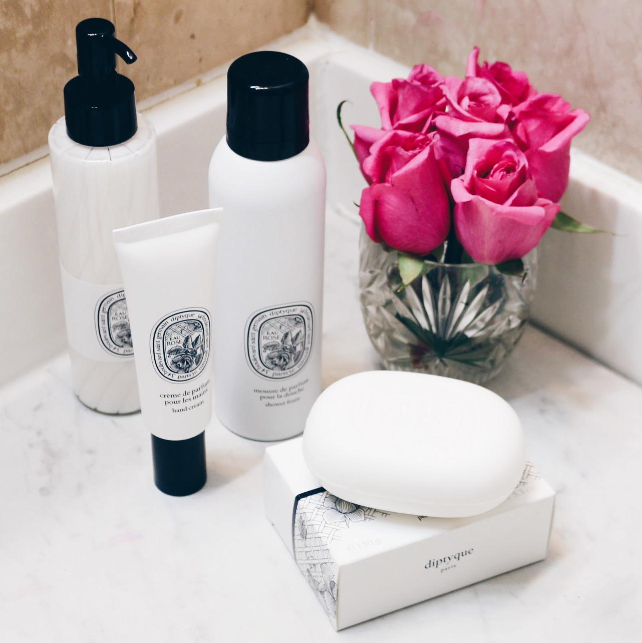 Diptyque Paris Eau Rose Skincare