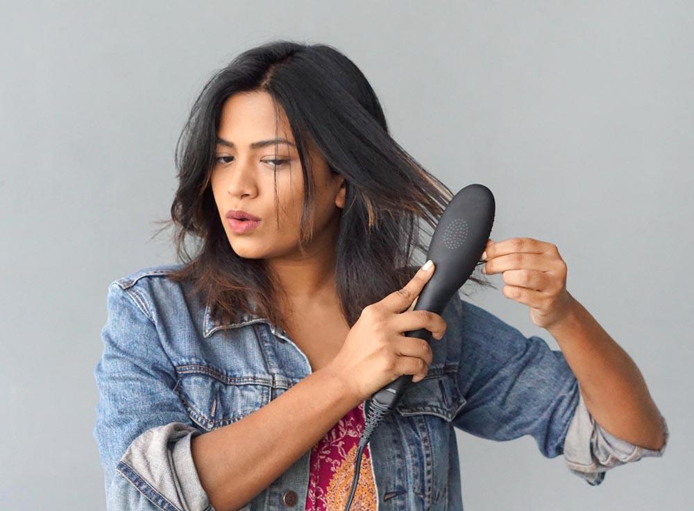 Dafni Hair Straightener Indian Hair