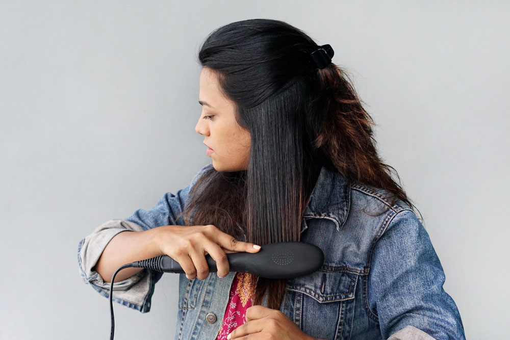 Beauty Blogger Fall Hair Straightener