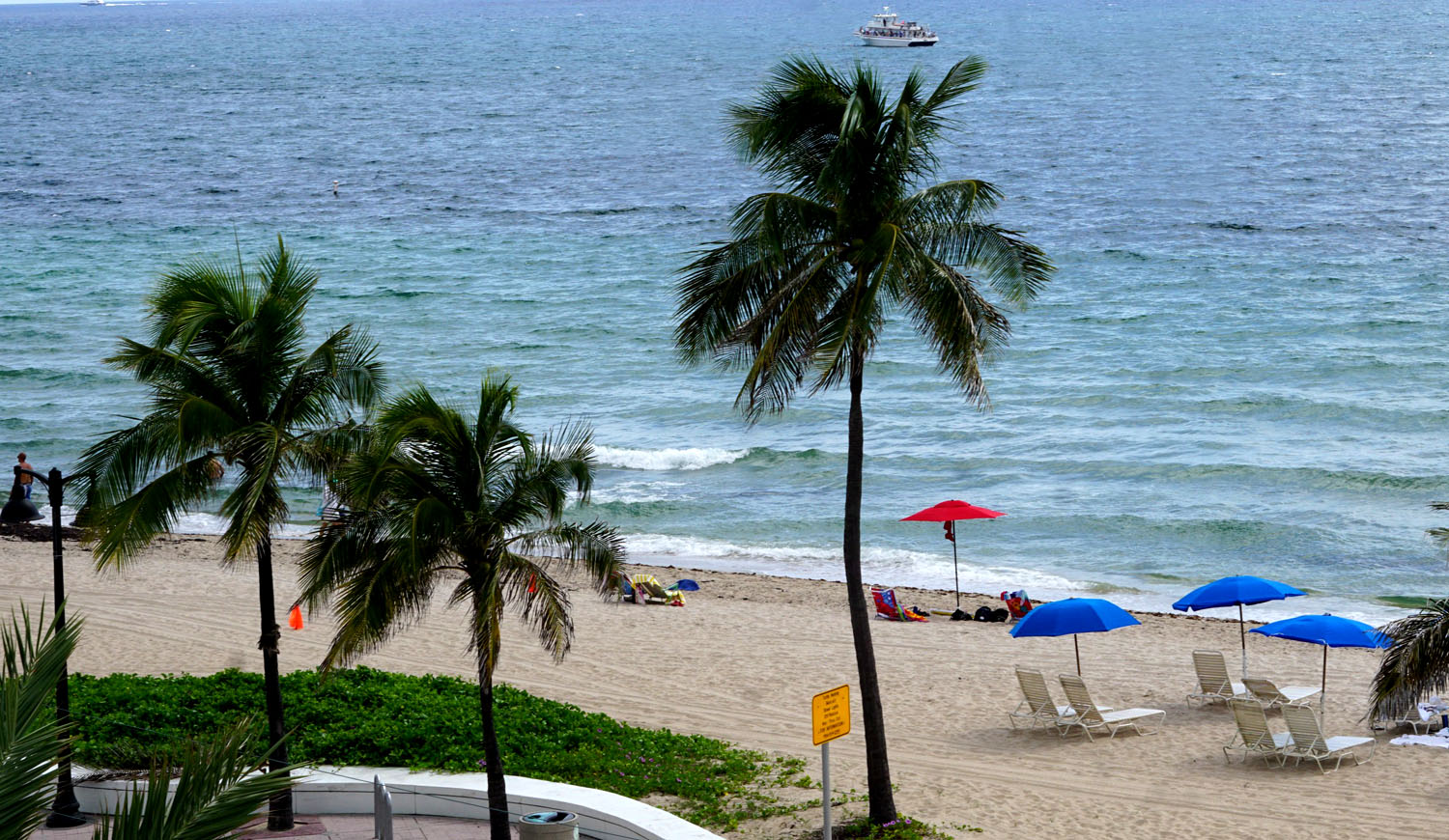 Beach View From W Fort Lauderdale Luxury Hotel