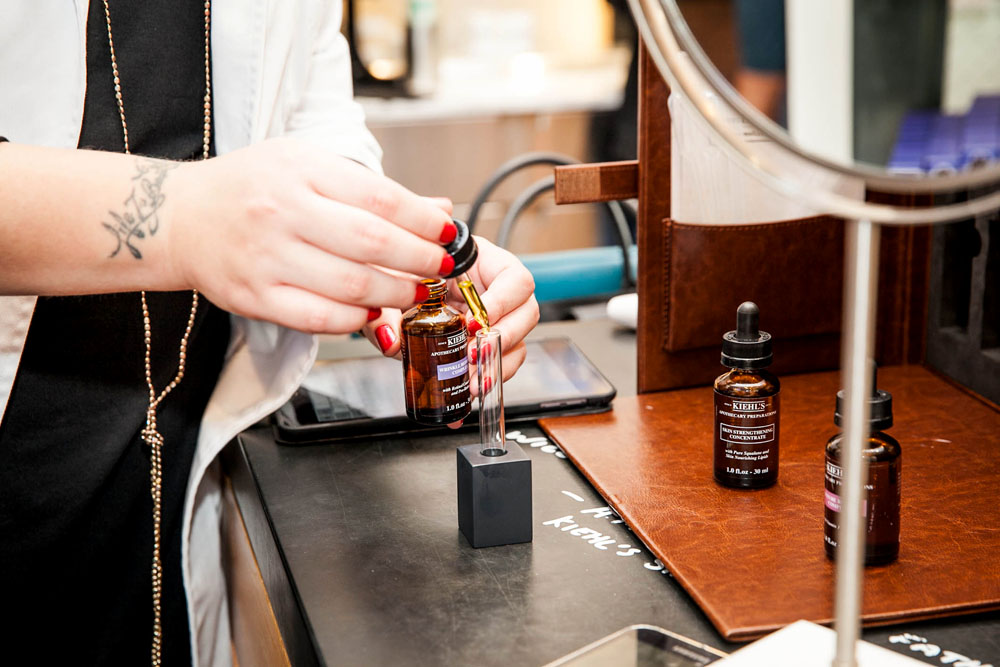 Kiehl's Apothecary Preparations – Make Your Own Custom Skin Serum