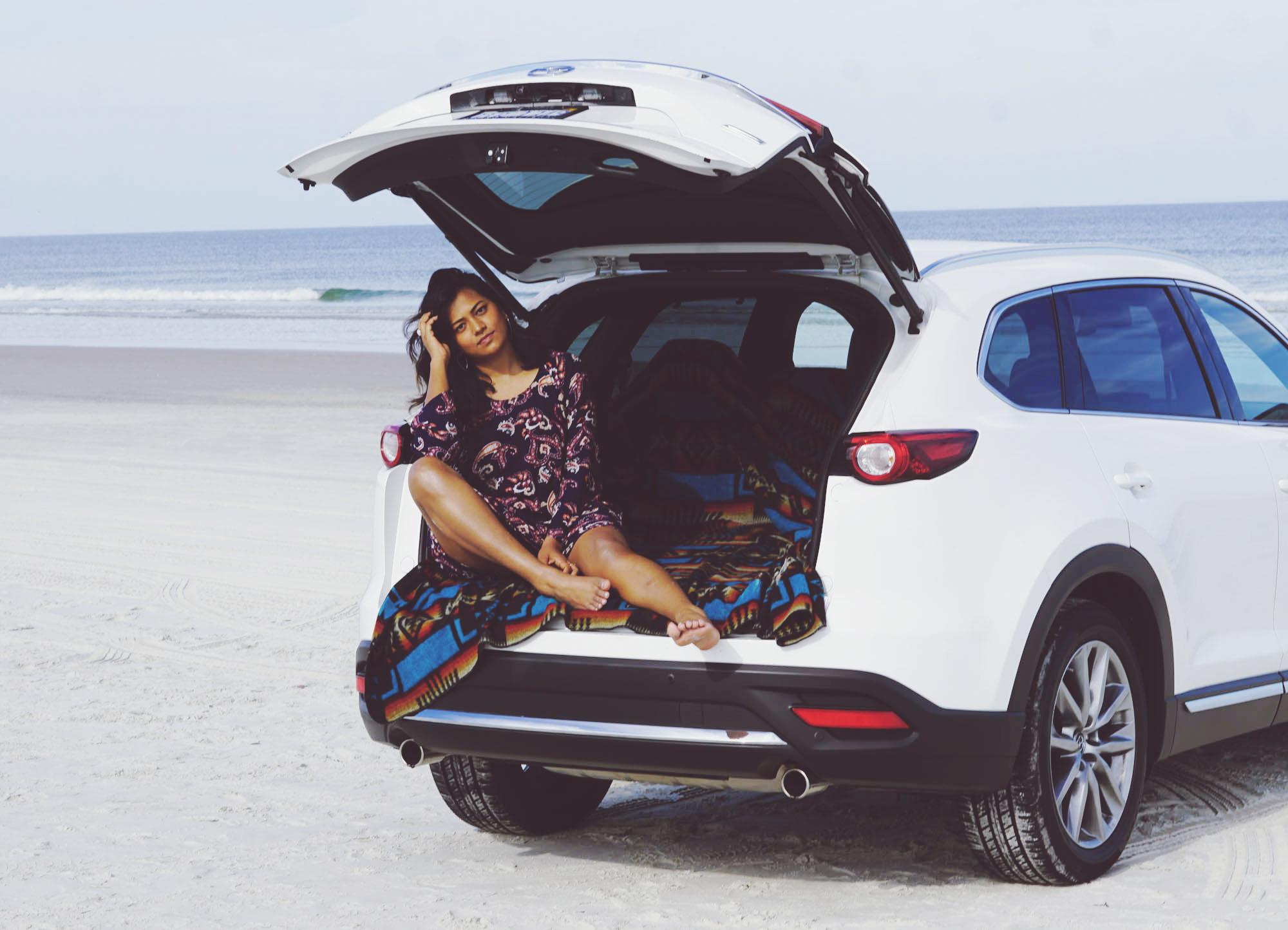 Car Blogger Influencer Travel Road Trip