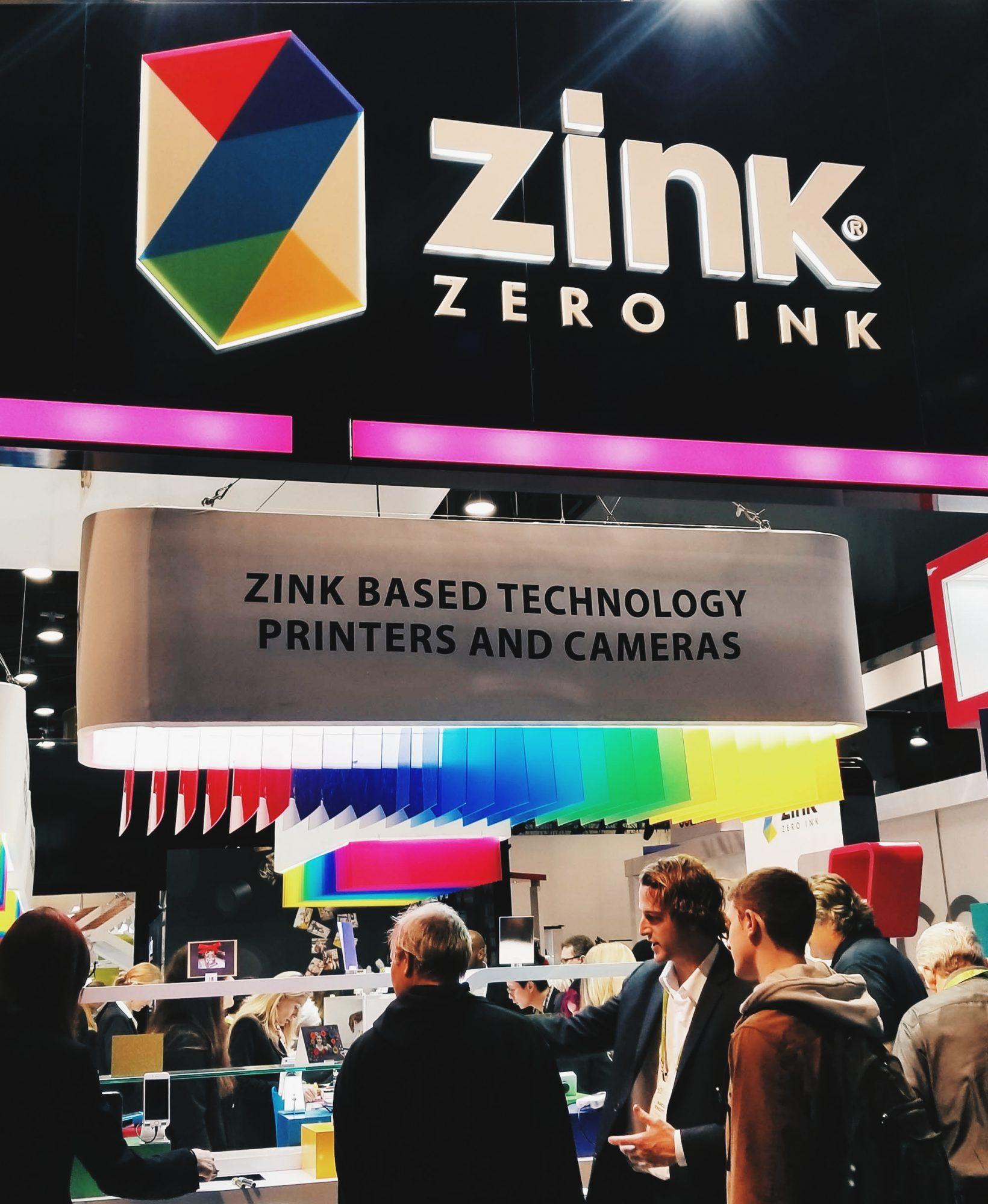 Zink Zero Ink CES 2018