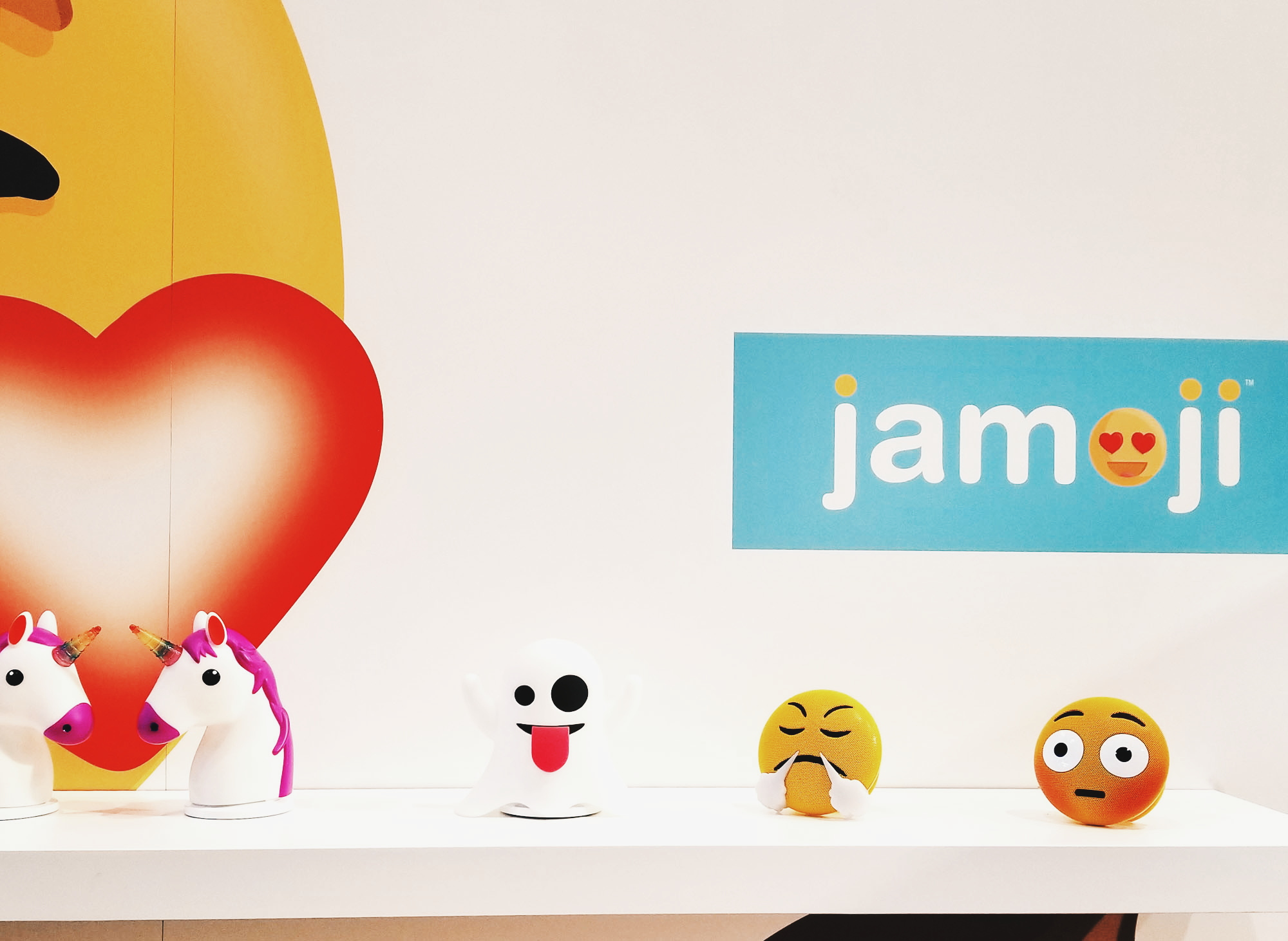 Jam Audio Emoji Speakers CES 2018