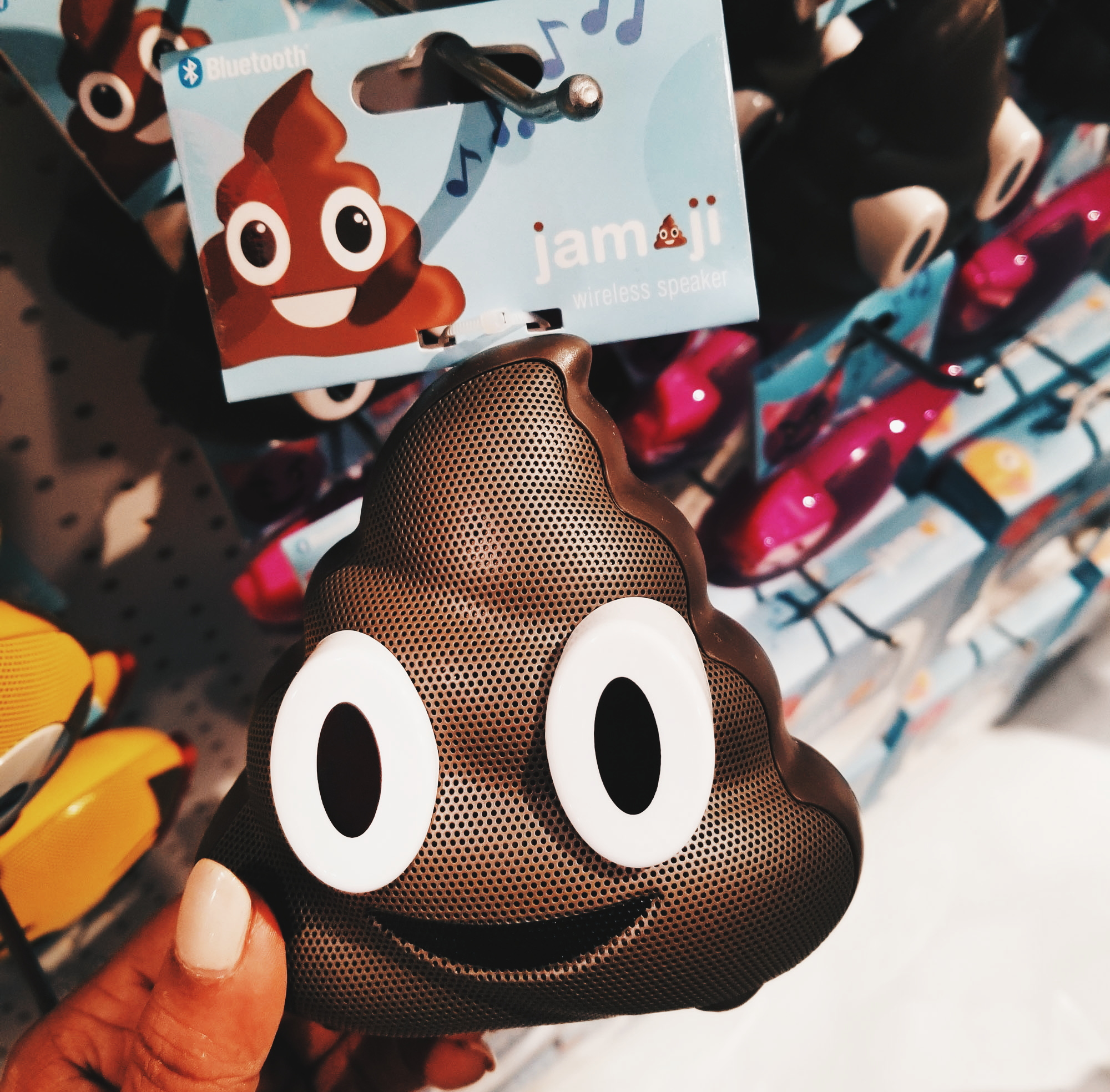 Jam Audio Poop Emoji Speakers CES 2018