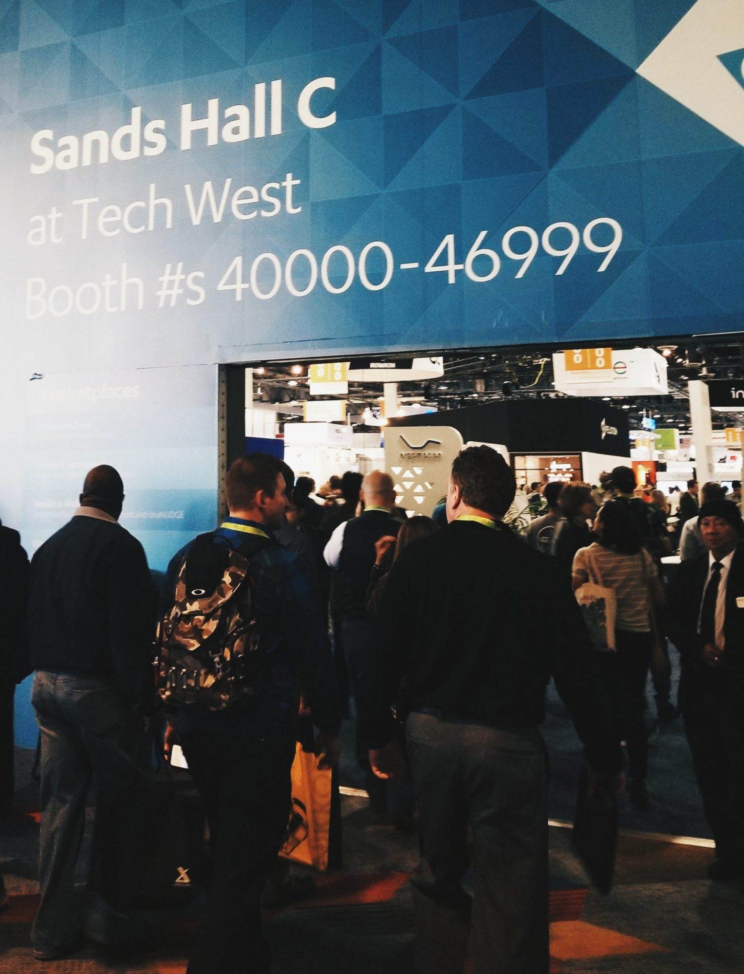 Las Vegas CES 2018 Sands Hall