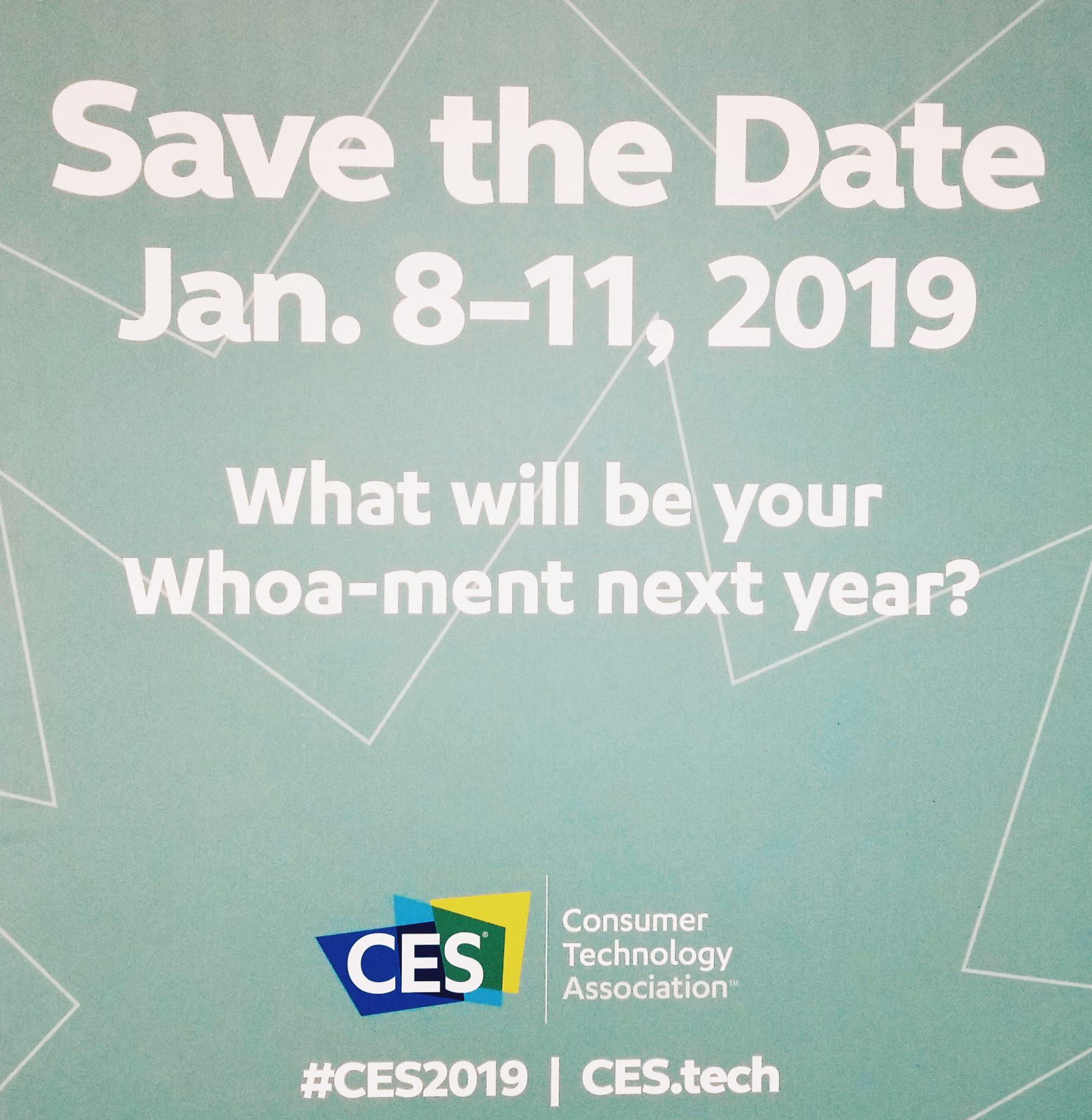 CES 2019 Dates