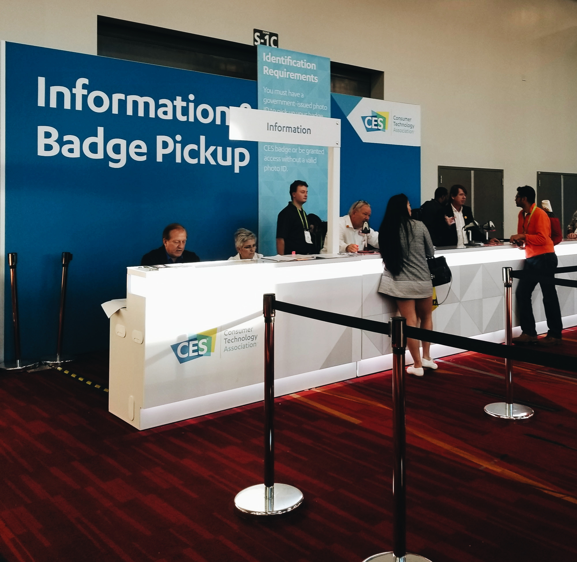 CES 2018 Information Booth