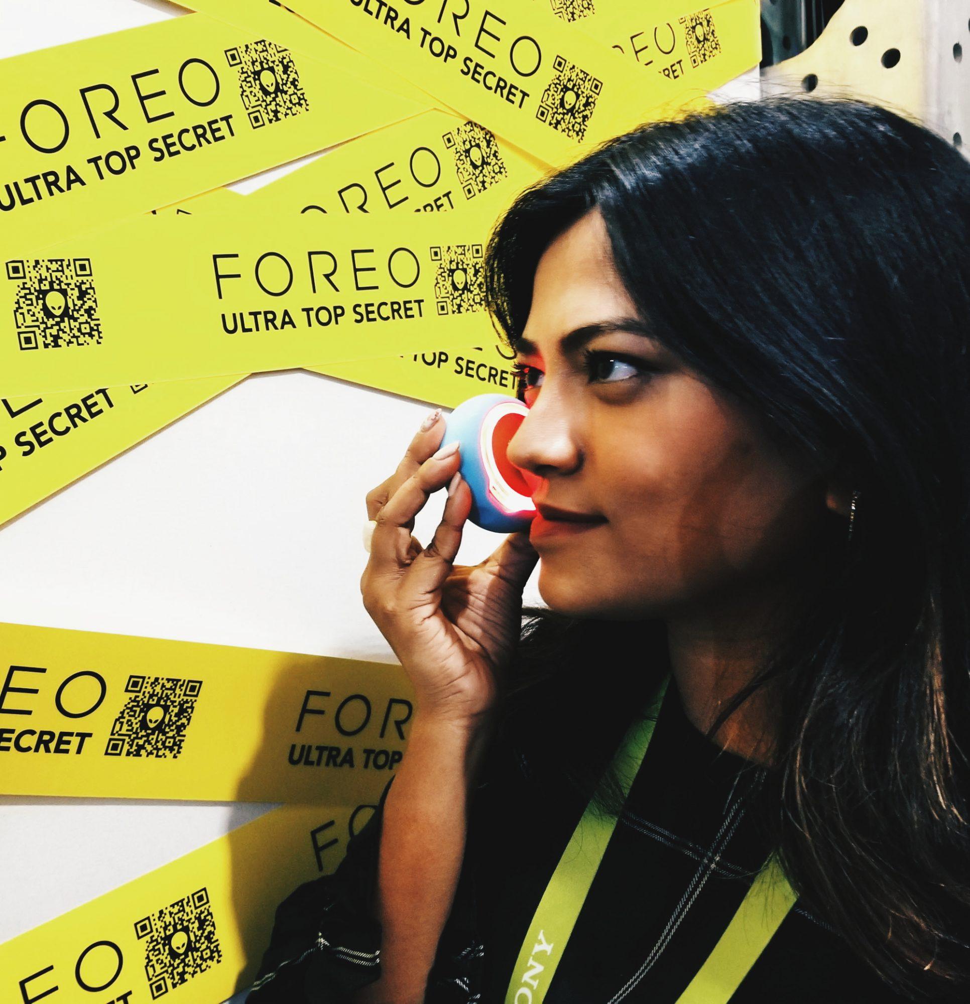 Lifestyle Blogger Afroza Khan Foreo CES 2018