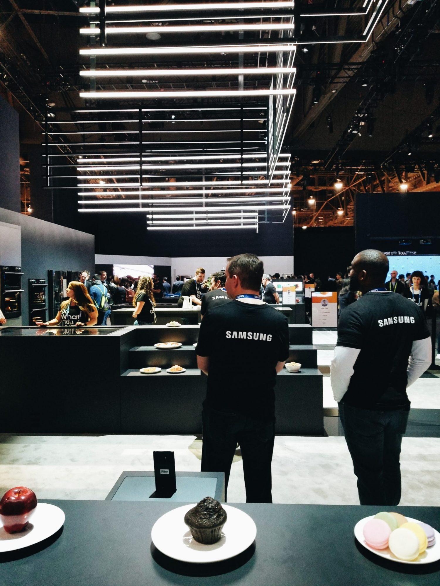 CES 2018 Samsung City