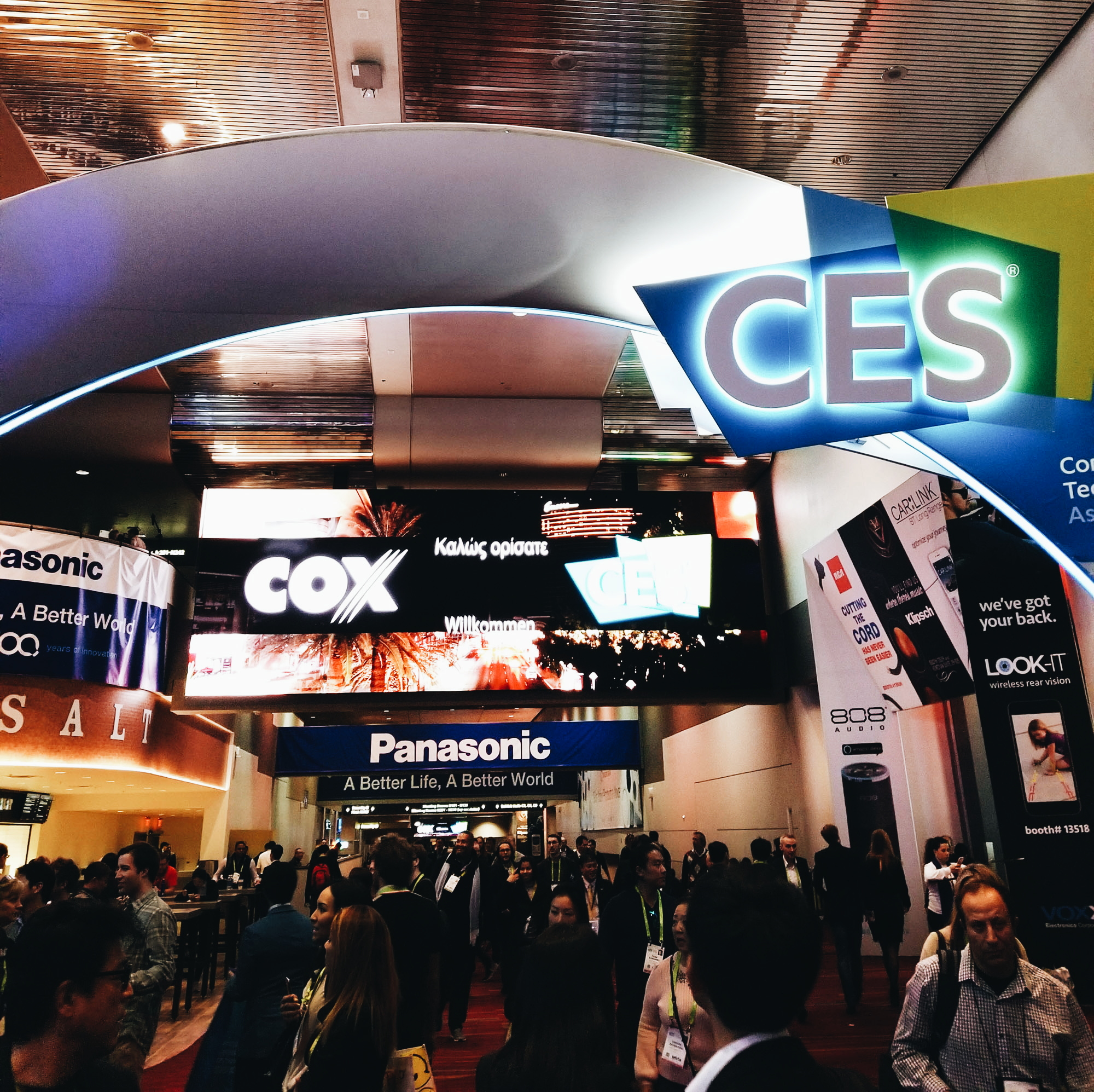 CES 2018 Las Vegas Convention Center
