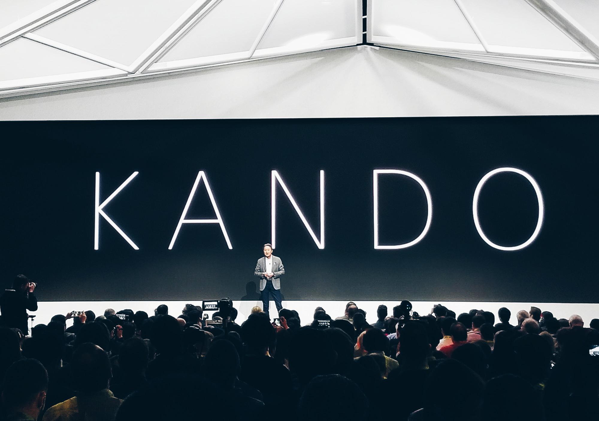Sony Media Event KANDO CES 2018