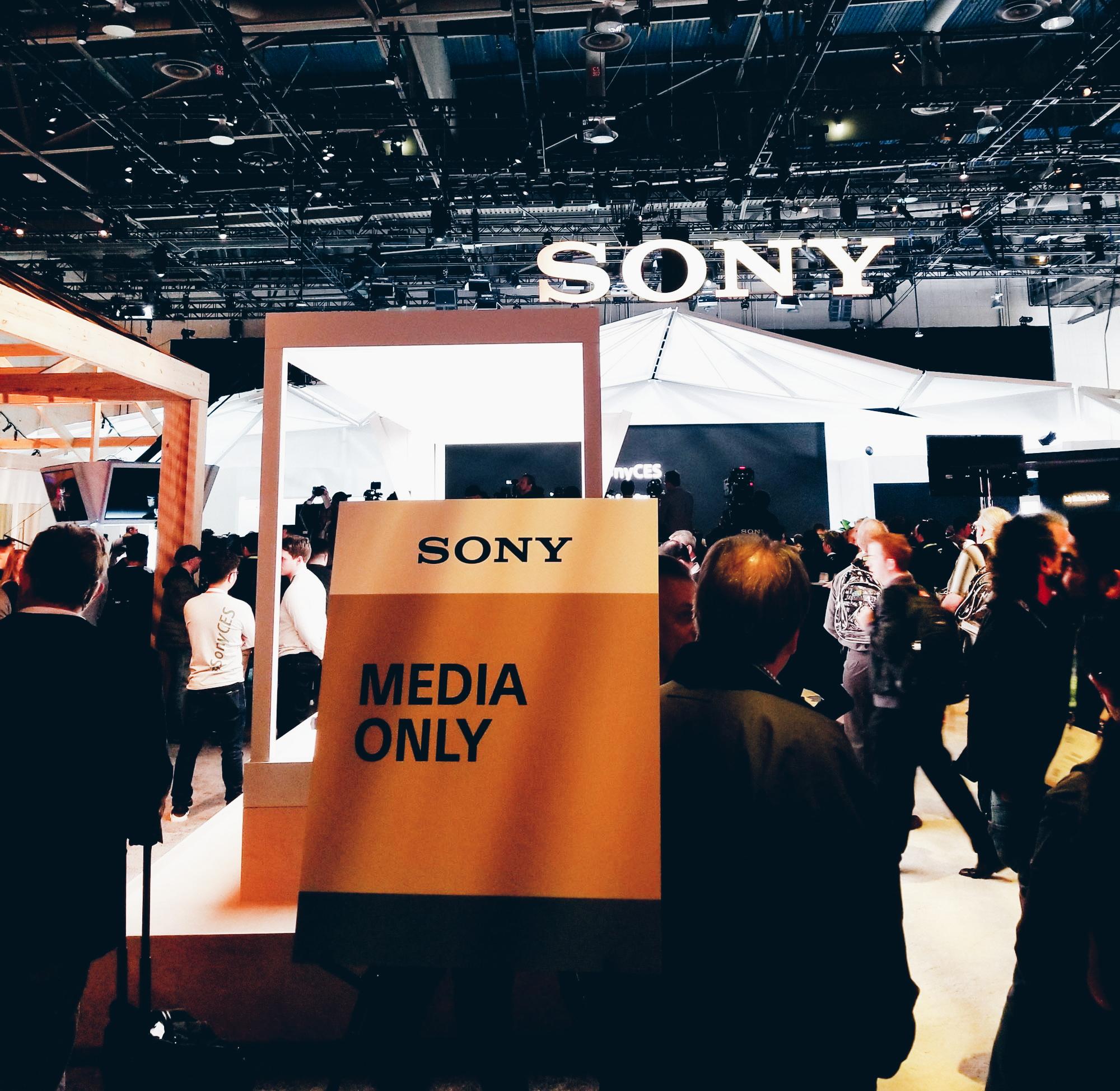 Sony Media Event Tech Blogger CES 2018