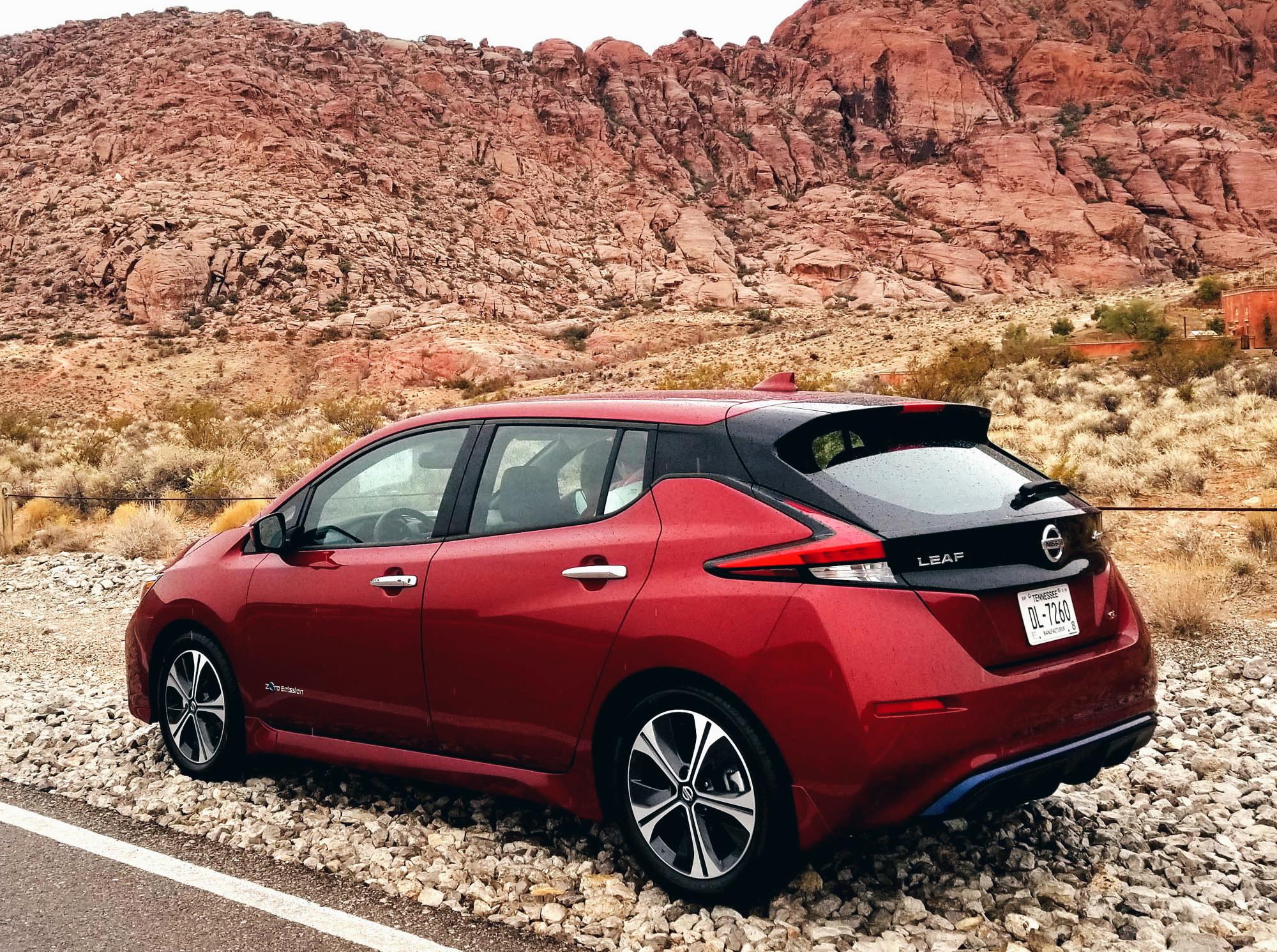 Nissan Leaf Car Blogger CES 2018