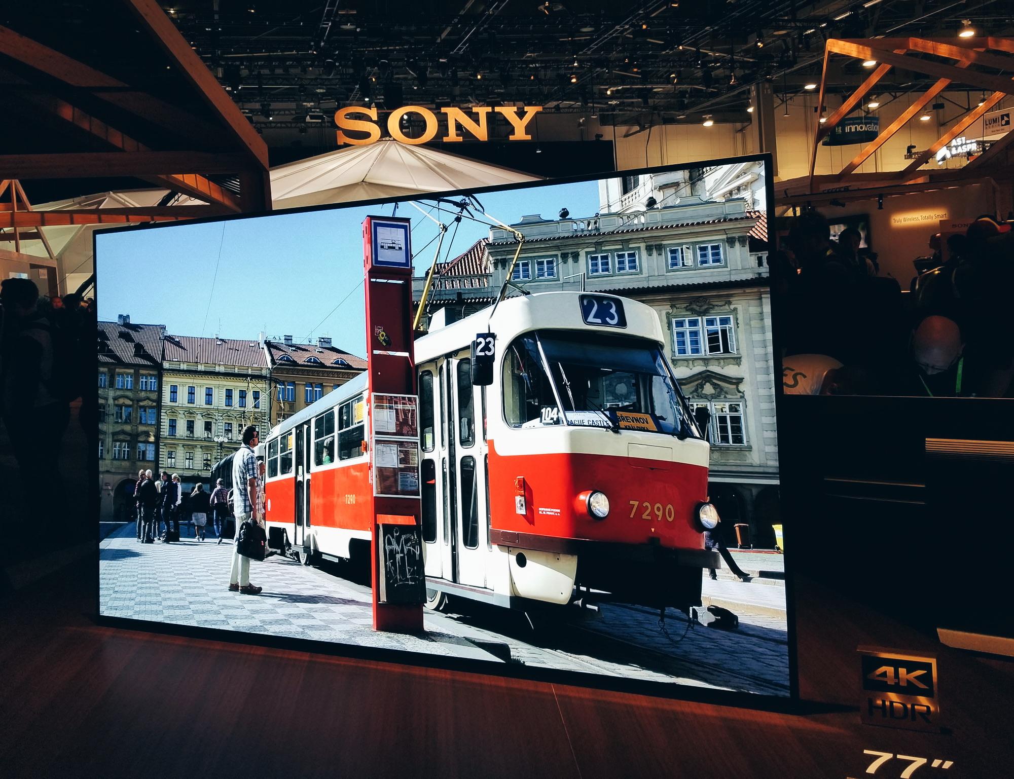 Sony 4K TV CES 2018