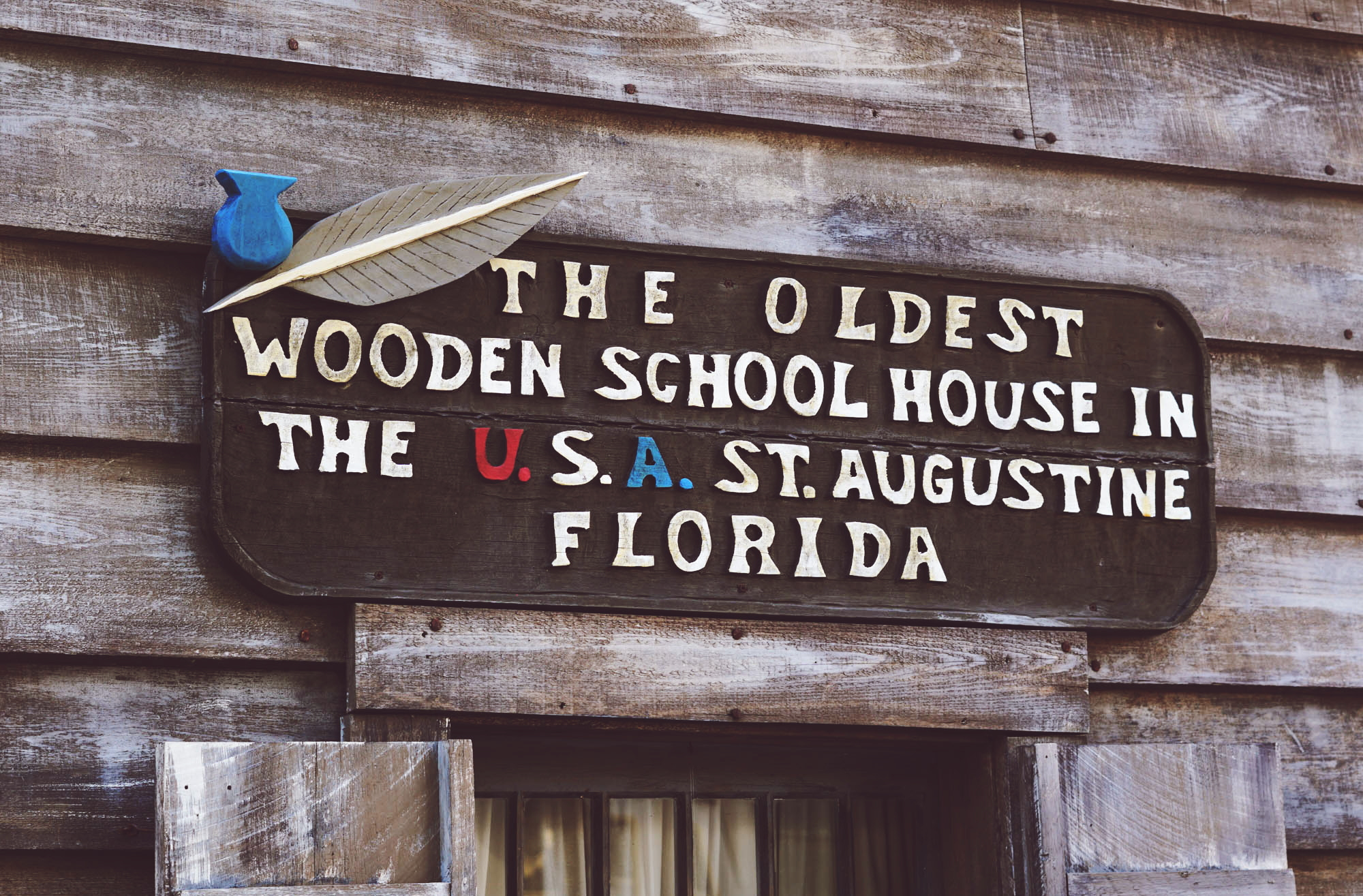 The Oldest Wooden Schoolhouse in USA