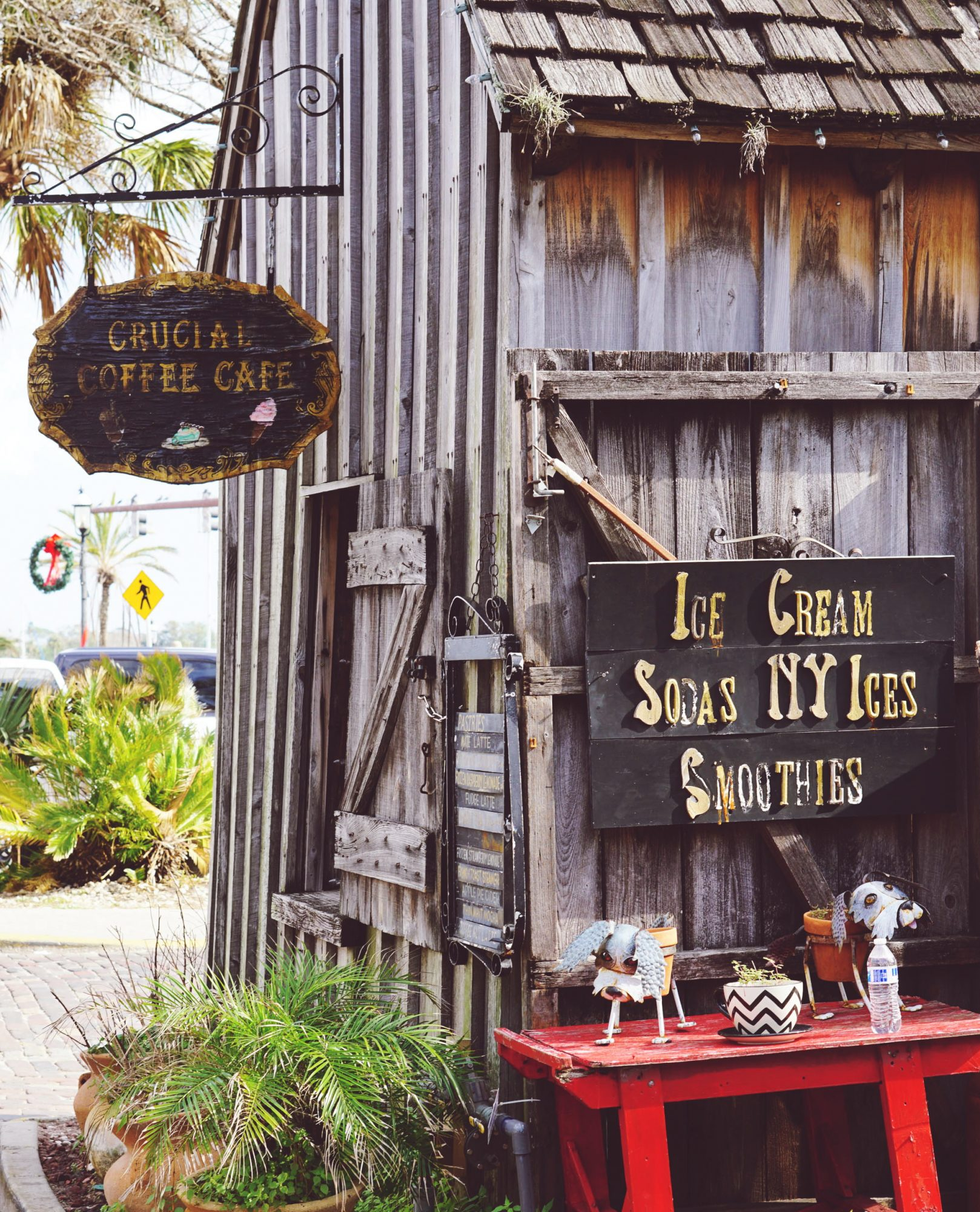 Crucial Coffee Cafe St. Augustine