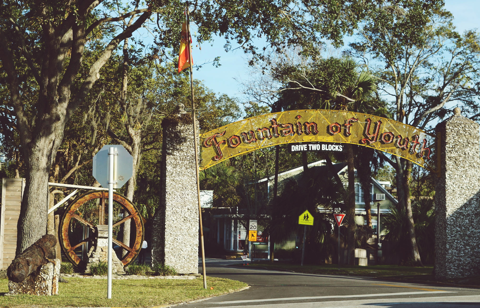 Fountain of Youth Park St. Augustine