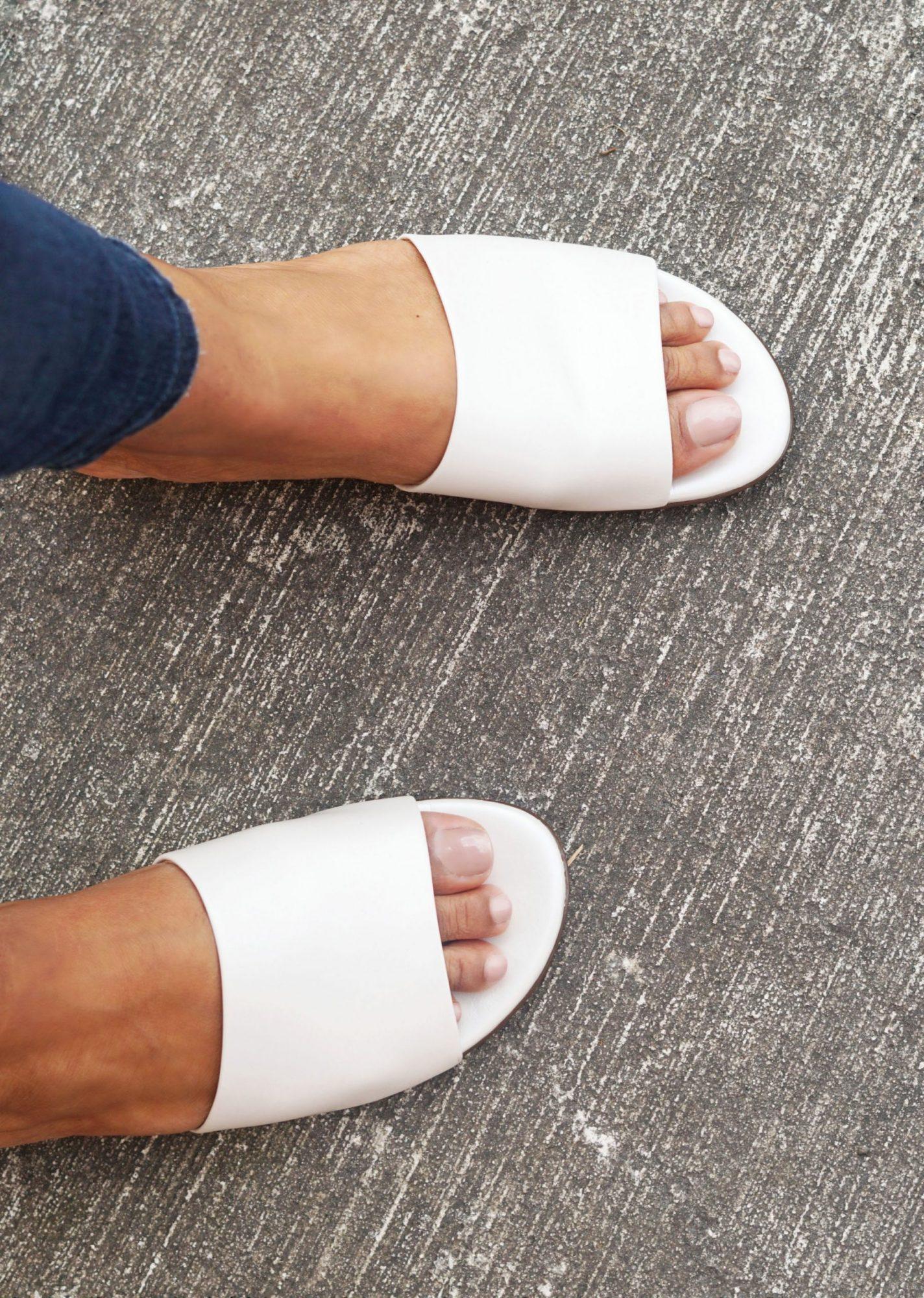 Naturalizer White Kitten Chunky Heel Trend