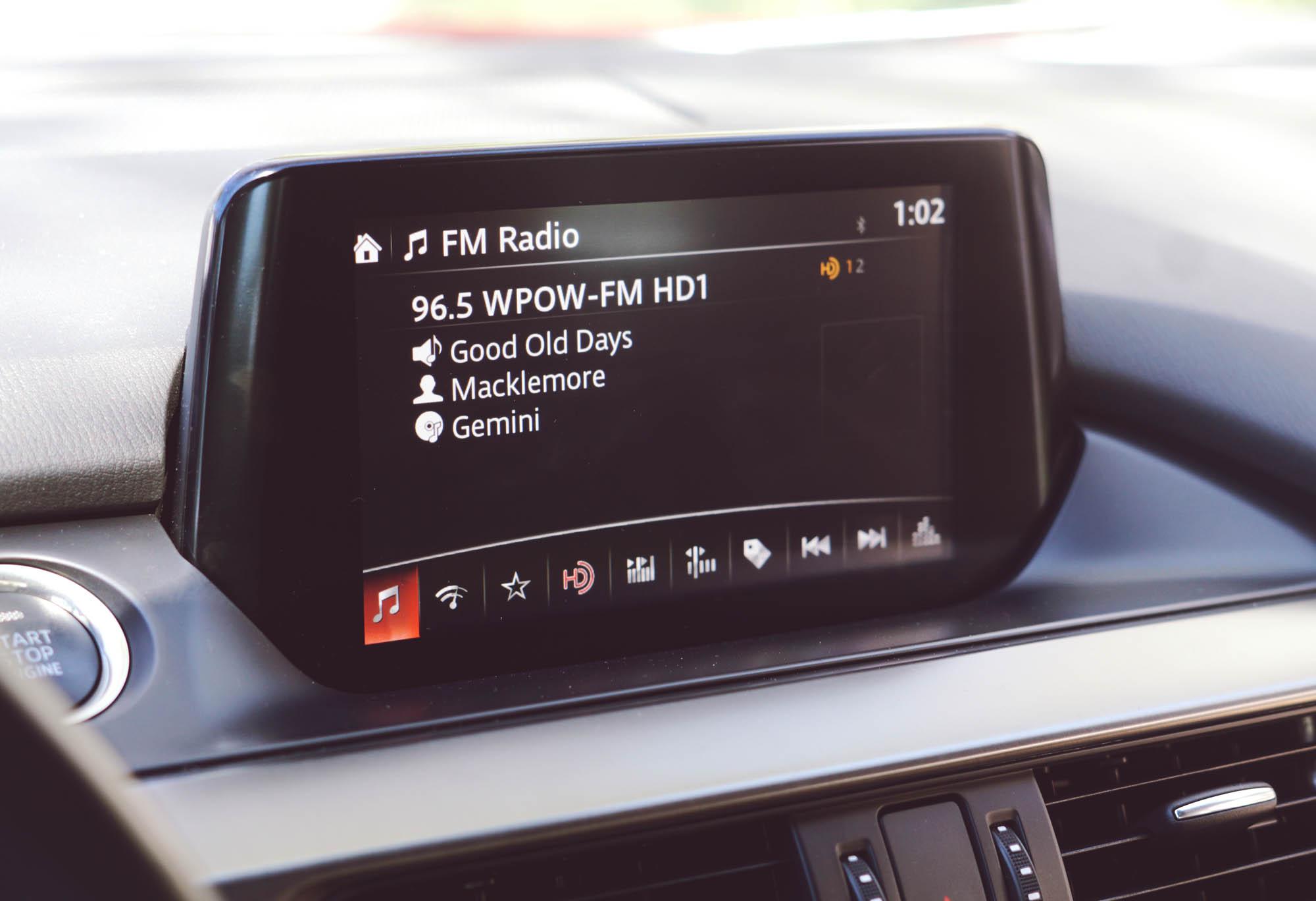 Mazda6 GT Sound System Radio