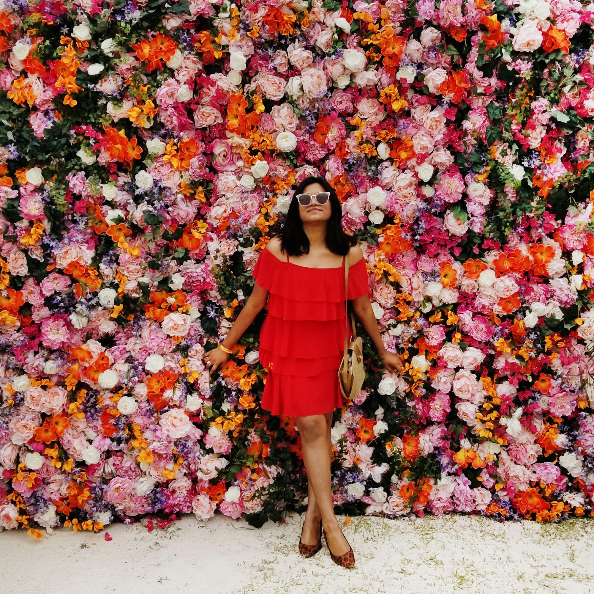 Miami Fashion Blogger Influencer Afroza Khan Miami VIP Luxury Event