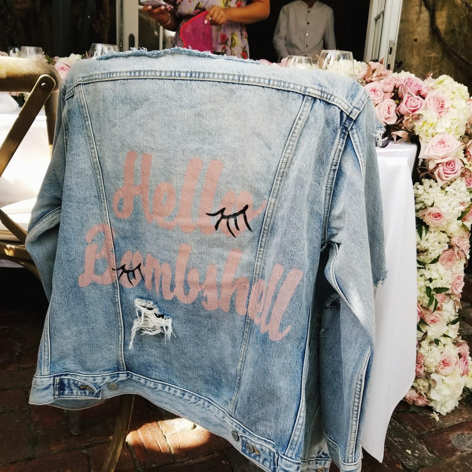 Hello Bombshell Jeans Jacket Victoria's Secret