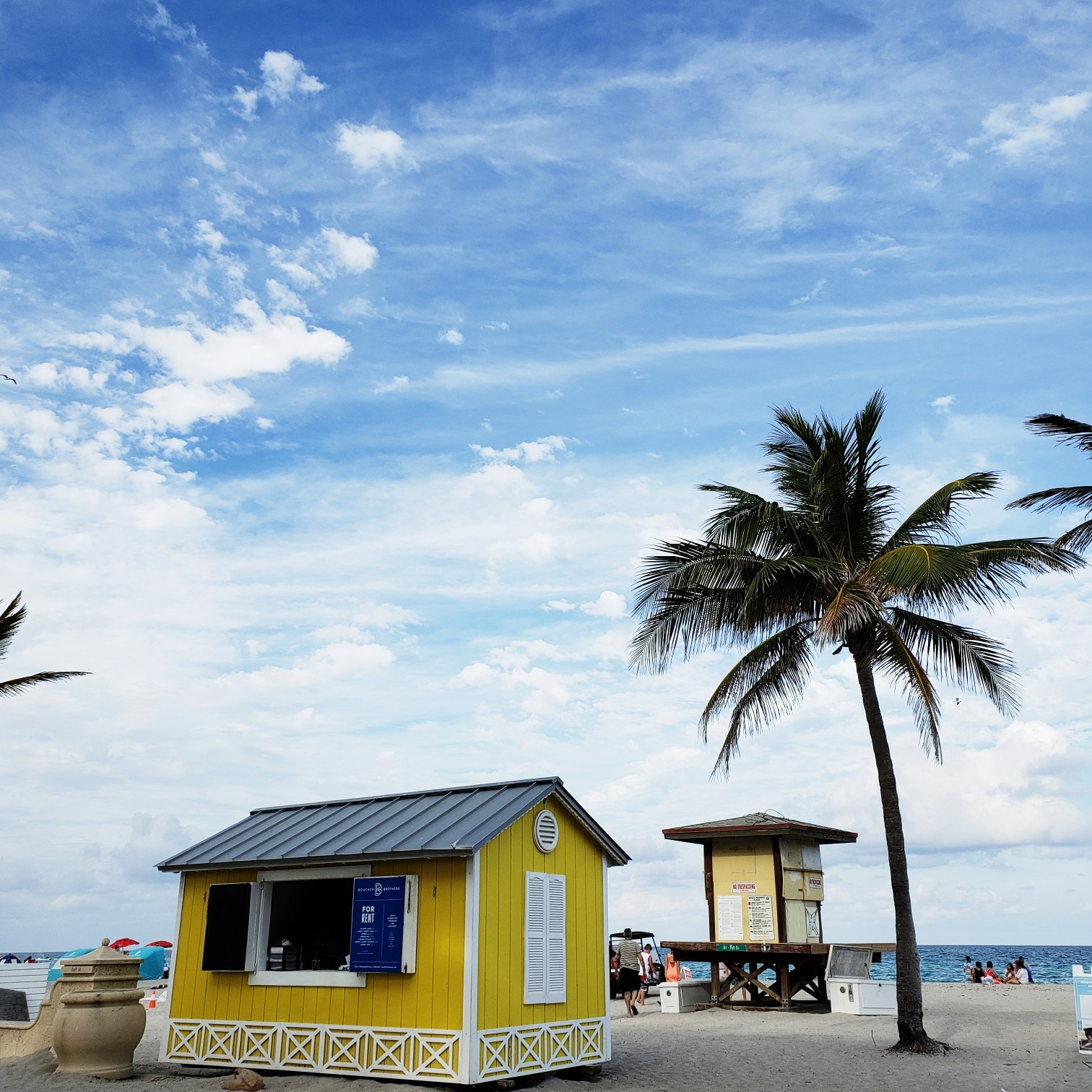 Yellow Cottage Hollywood Beach Florida