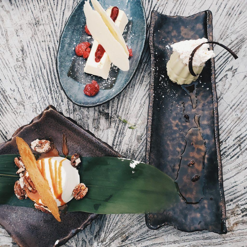 Desserts at Sugar East Miami