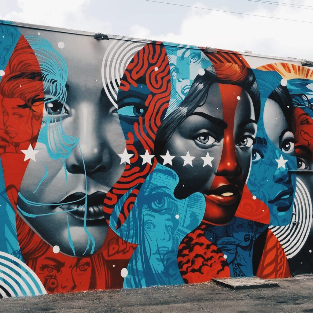 Wynwood American Flag Mural