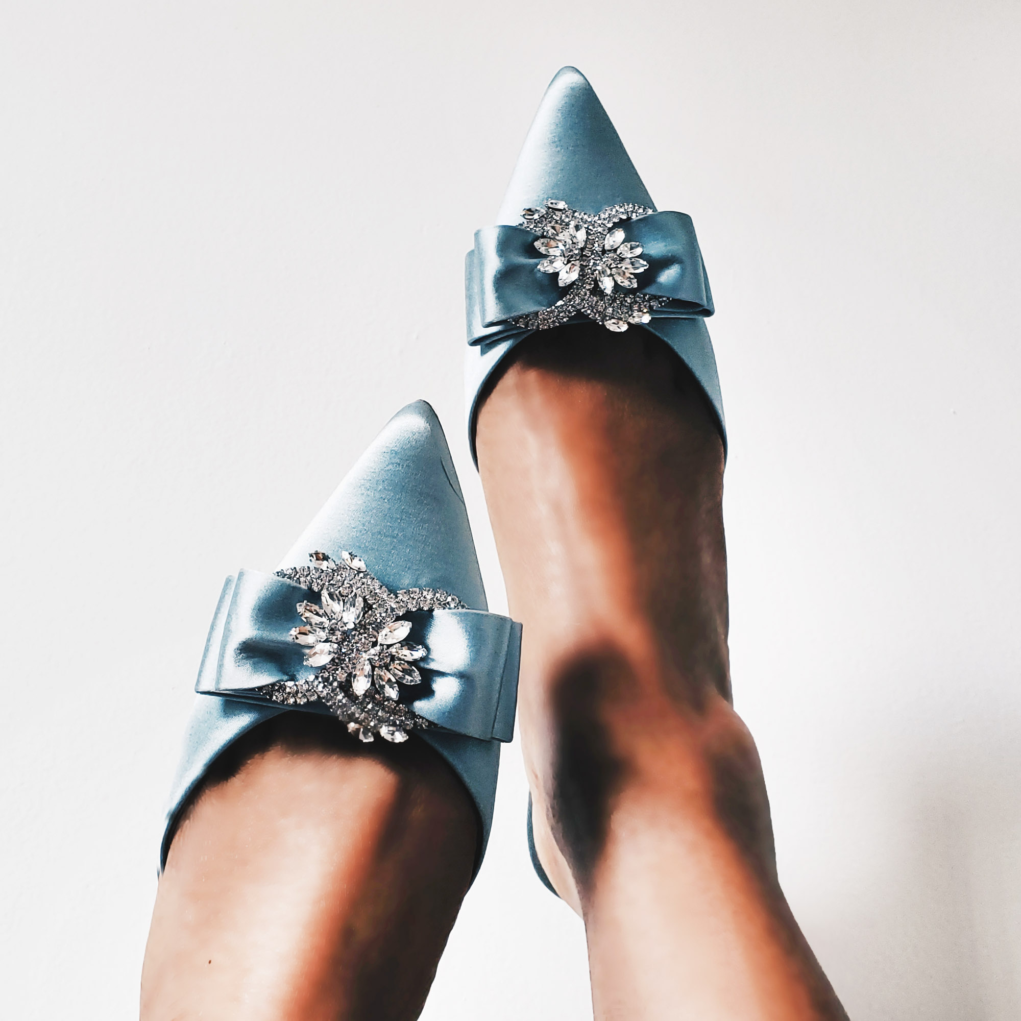 Fashion Blogger Cinderella Kitten Party Heels
