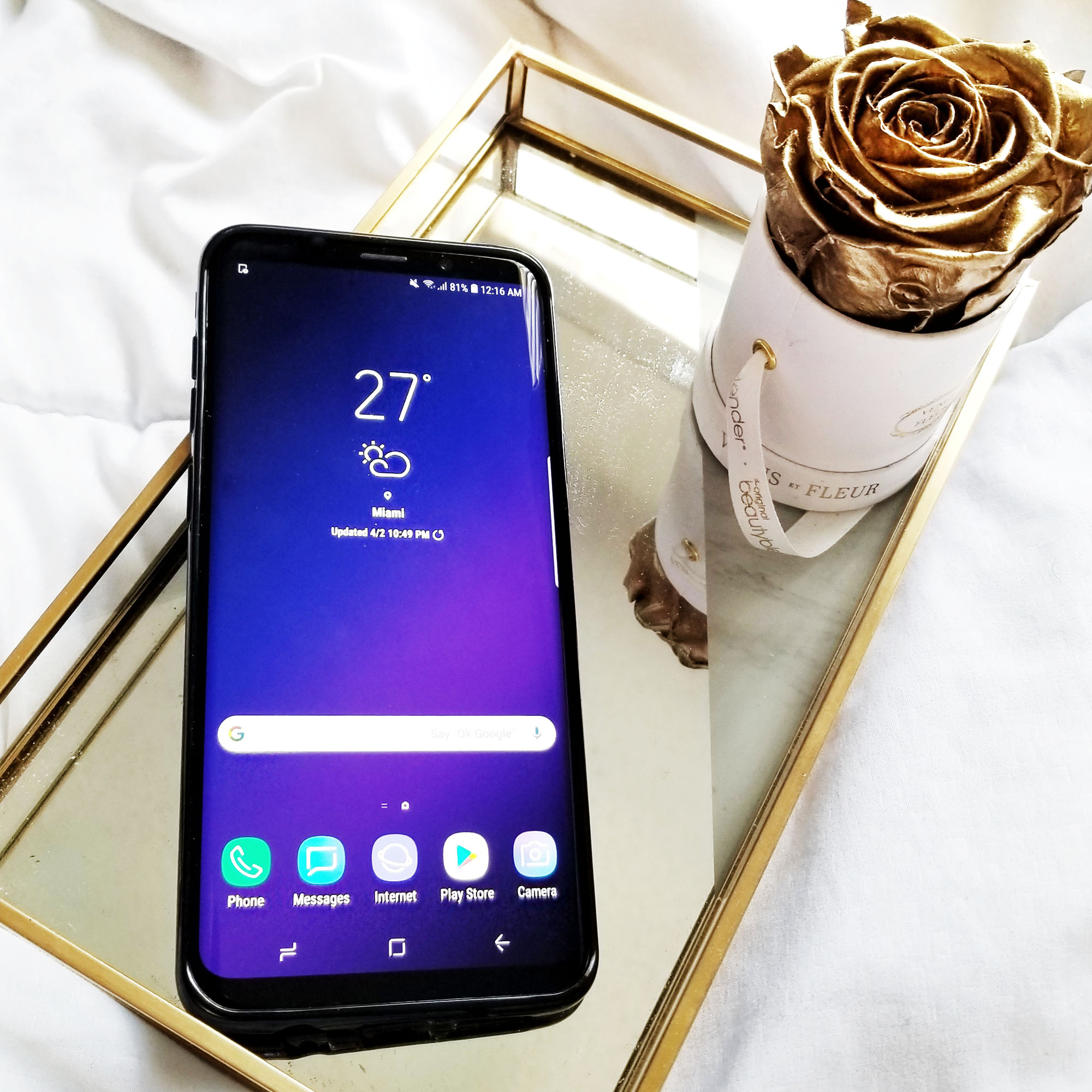 Galaxy Galaxy S9+ For Bloggers