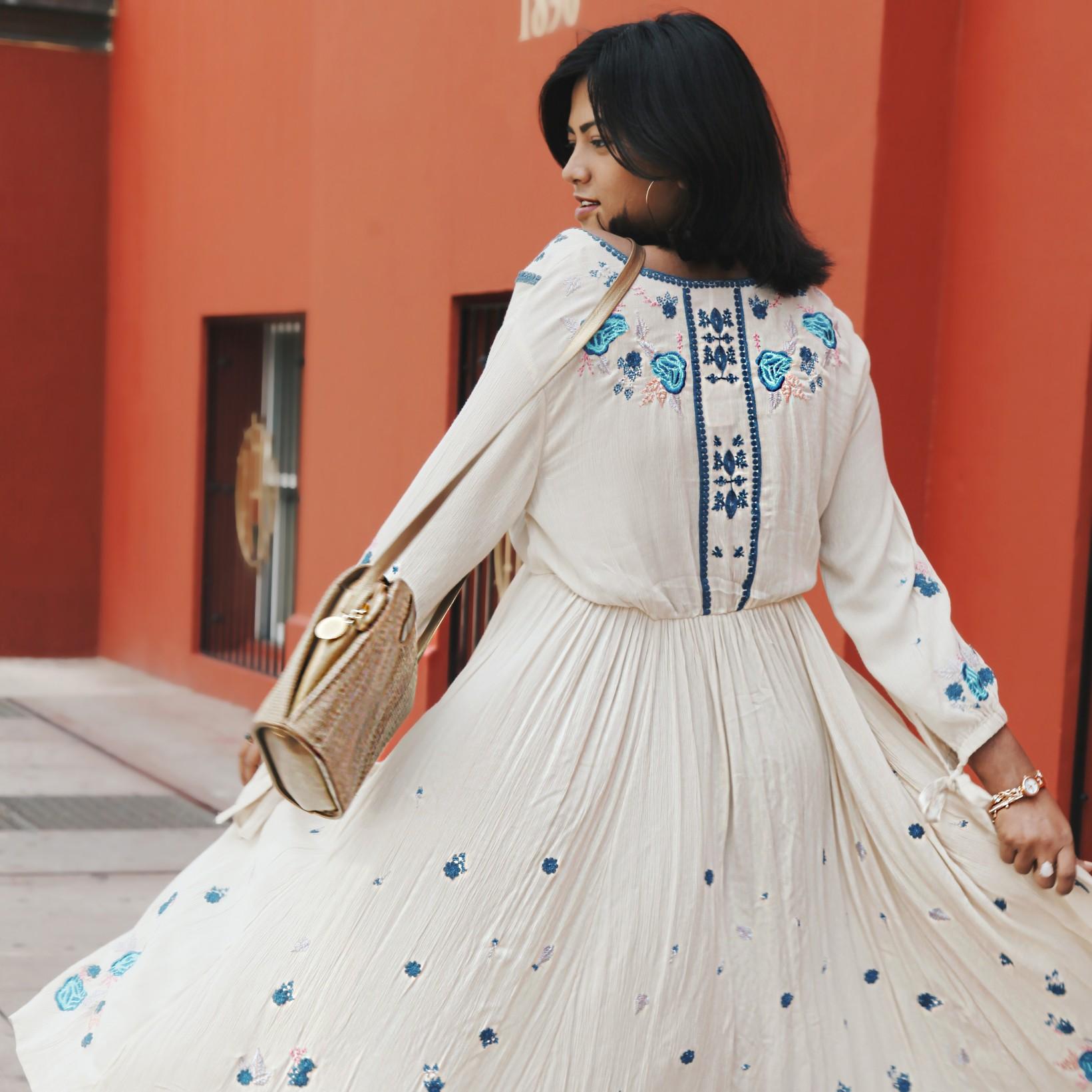 Boho Free People Fashion Style Miami