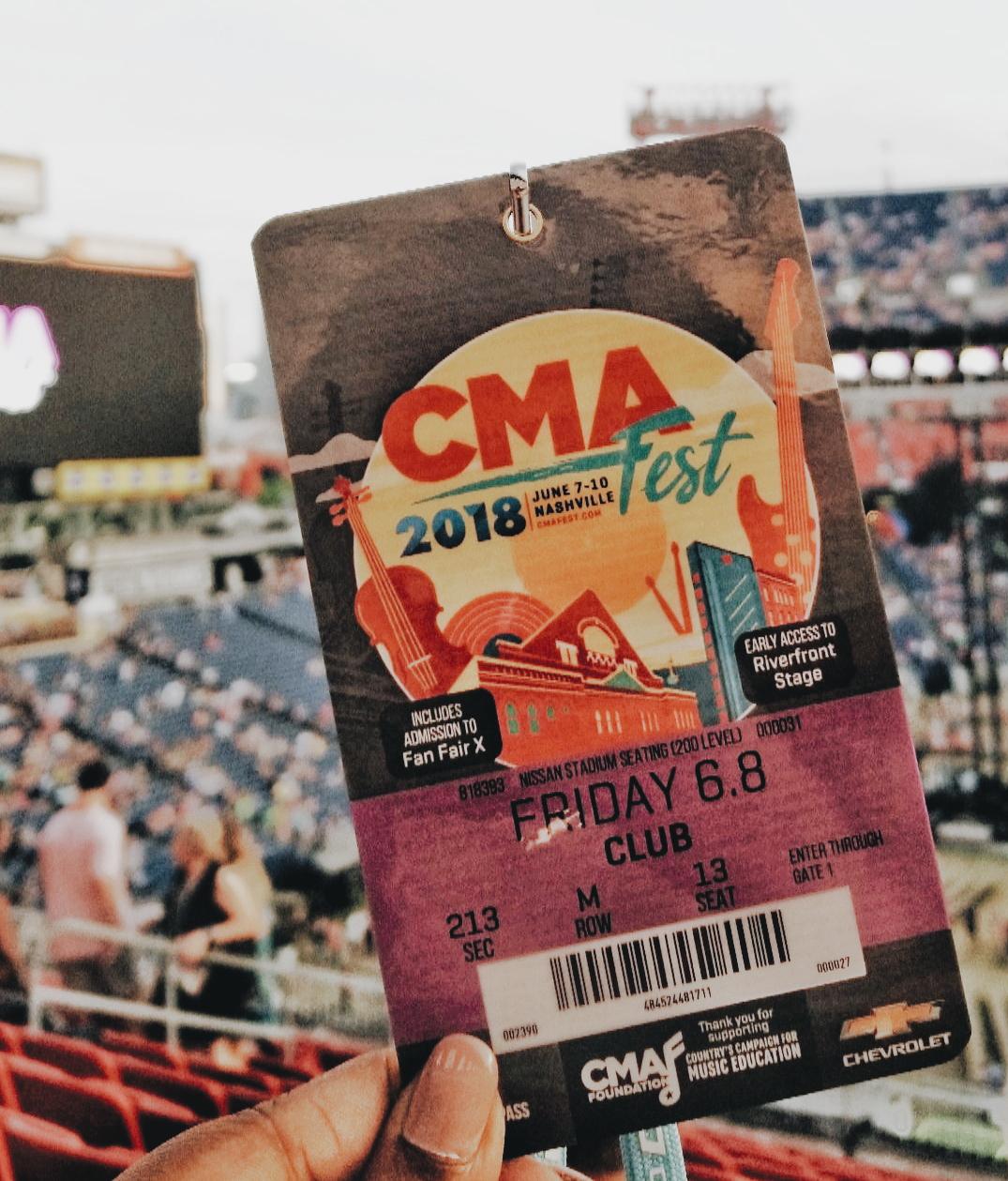 Nashville Tennessee CMA Fest 2018