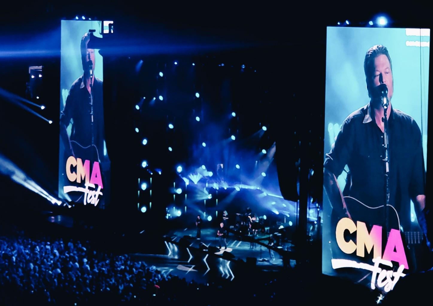 Chevy CMA Fest 2018 Blake Shelton