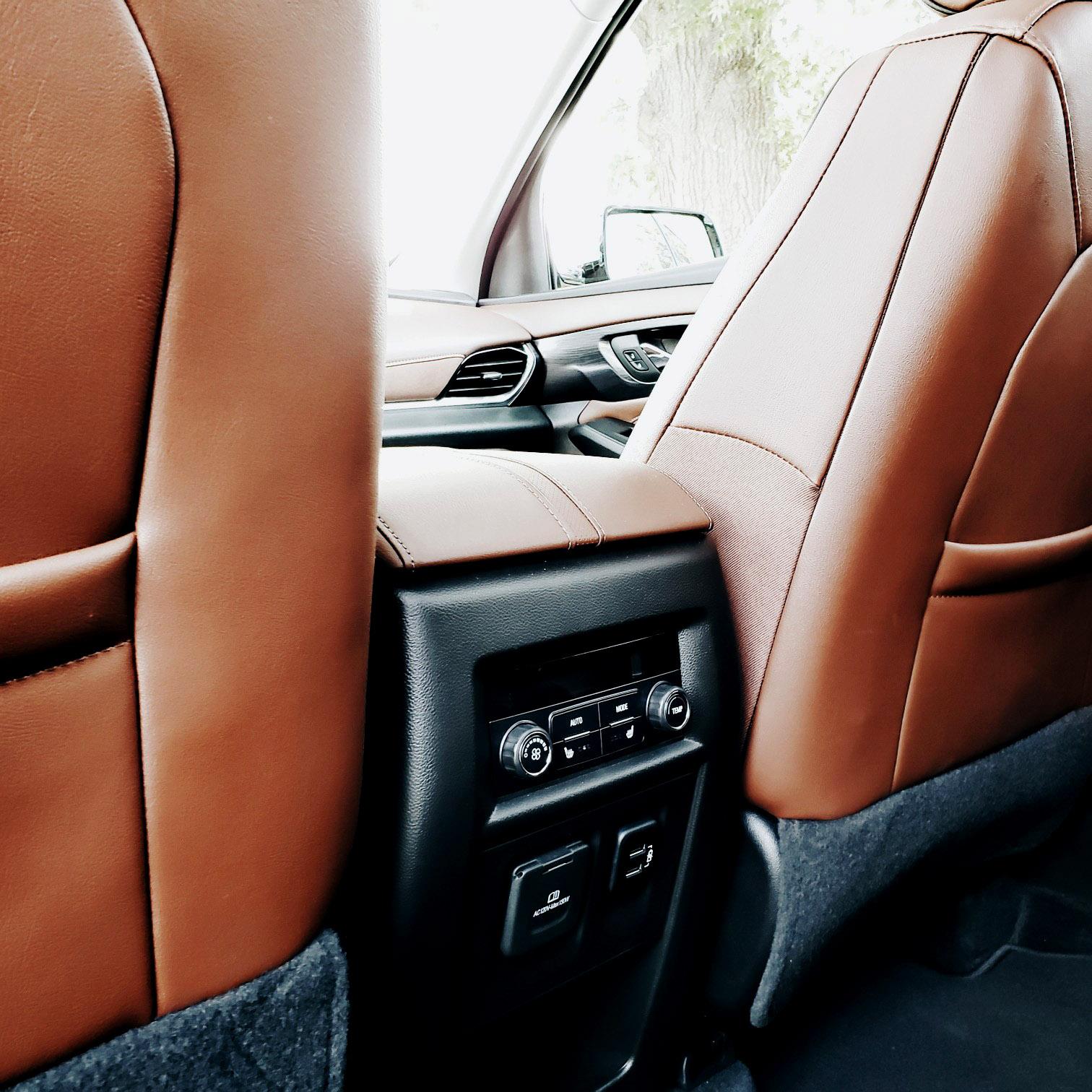 Car Interior Chevy Traverse 2018 High Country