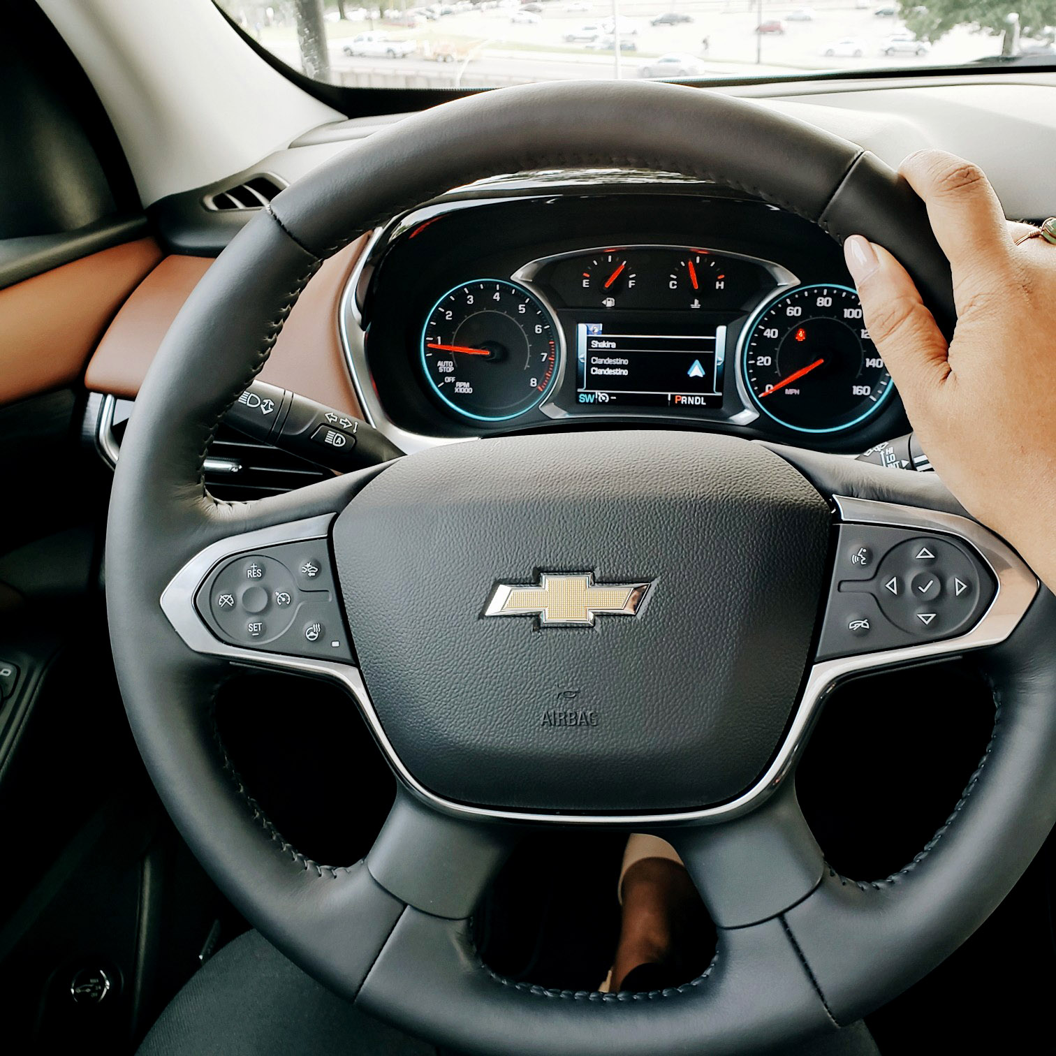 2018 Chevrolet Traverse High Country Steering Wheel