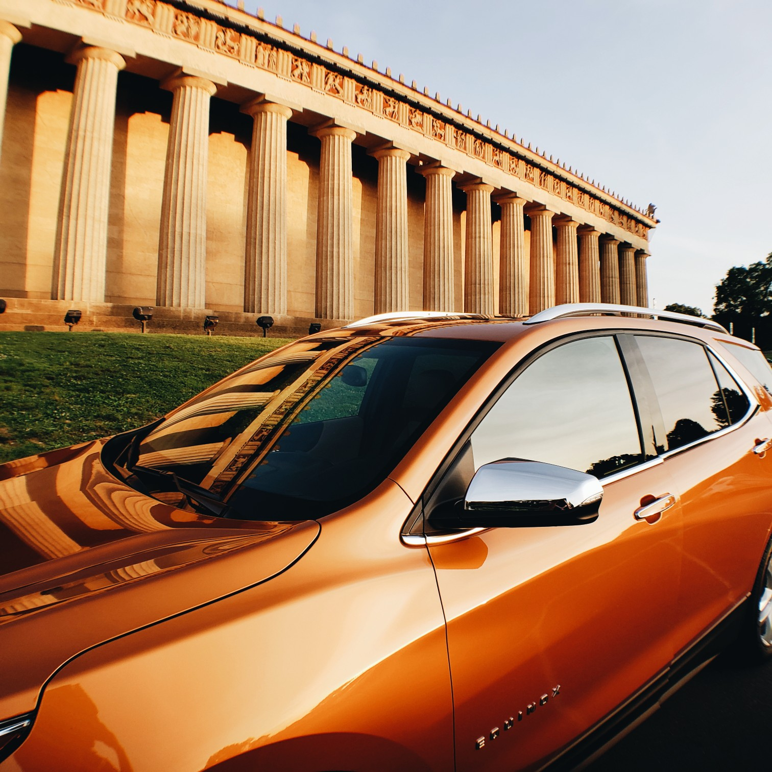 2018 Chevrolet Equinox Orange Burst Metallic Car Review