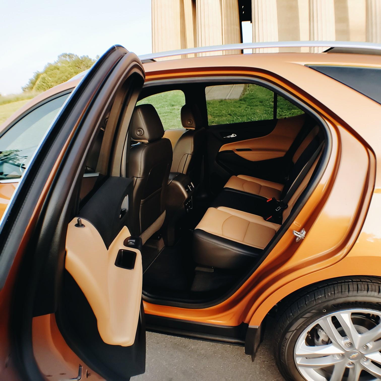 Car Review Premiere 2018 Chevrolet Equinox Interior Seats