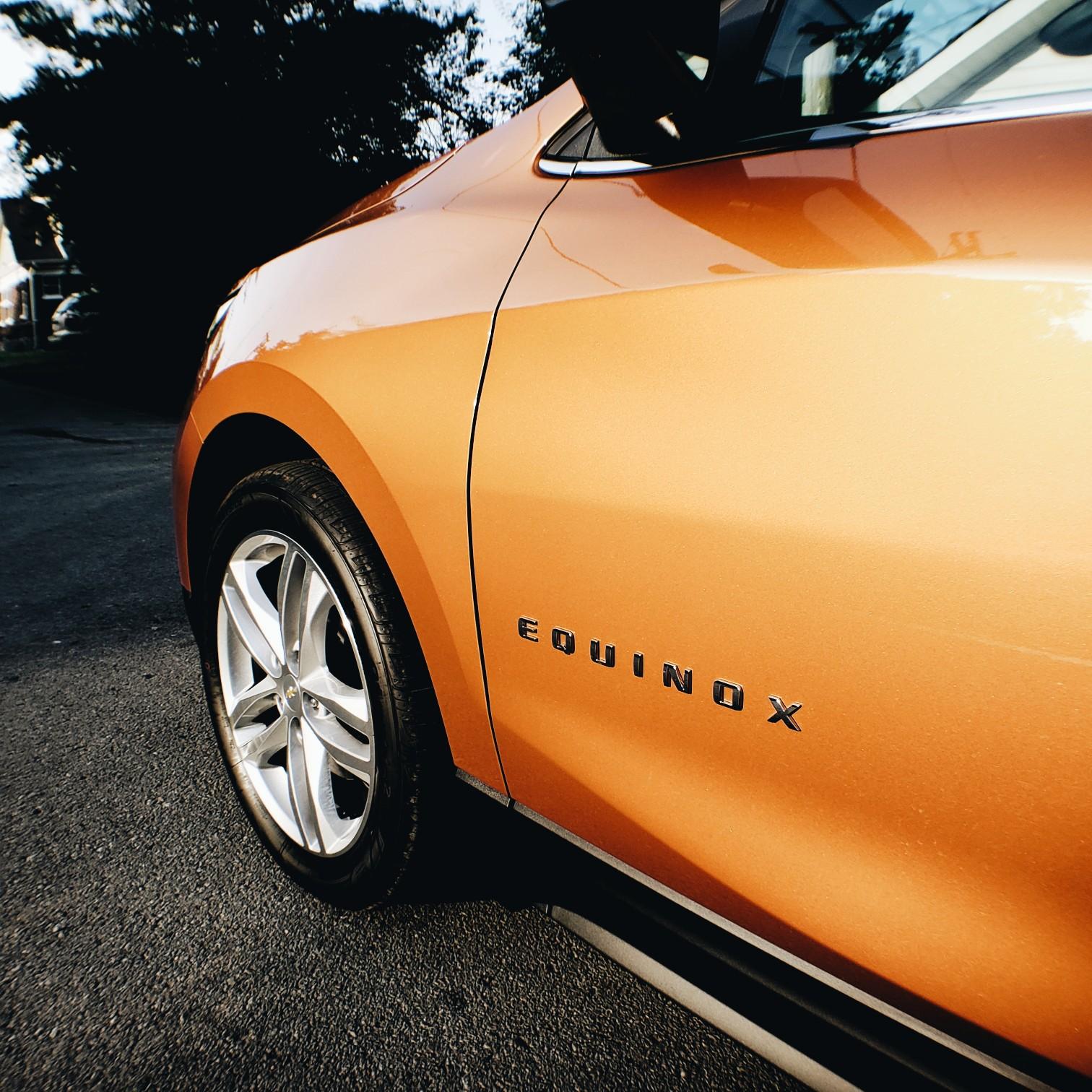 Car Blogger Review Chevrolet Orange Burst