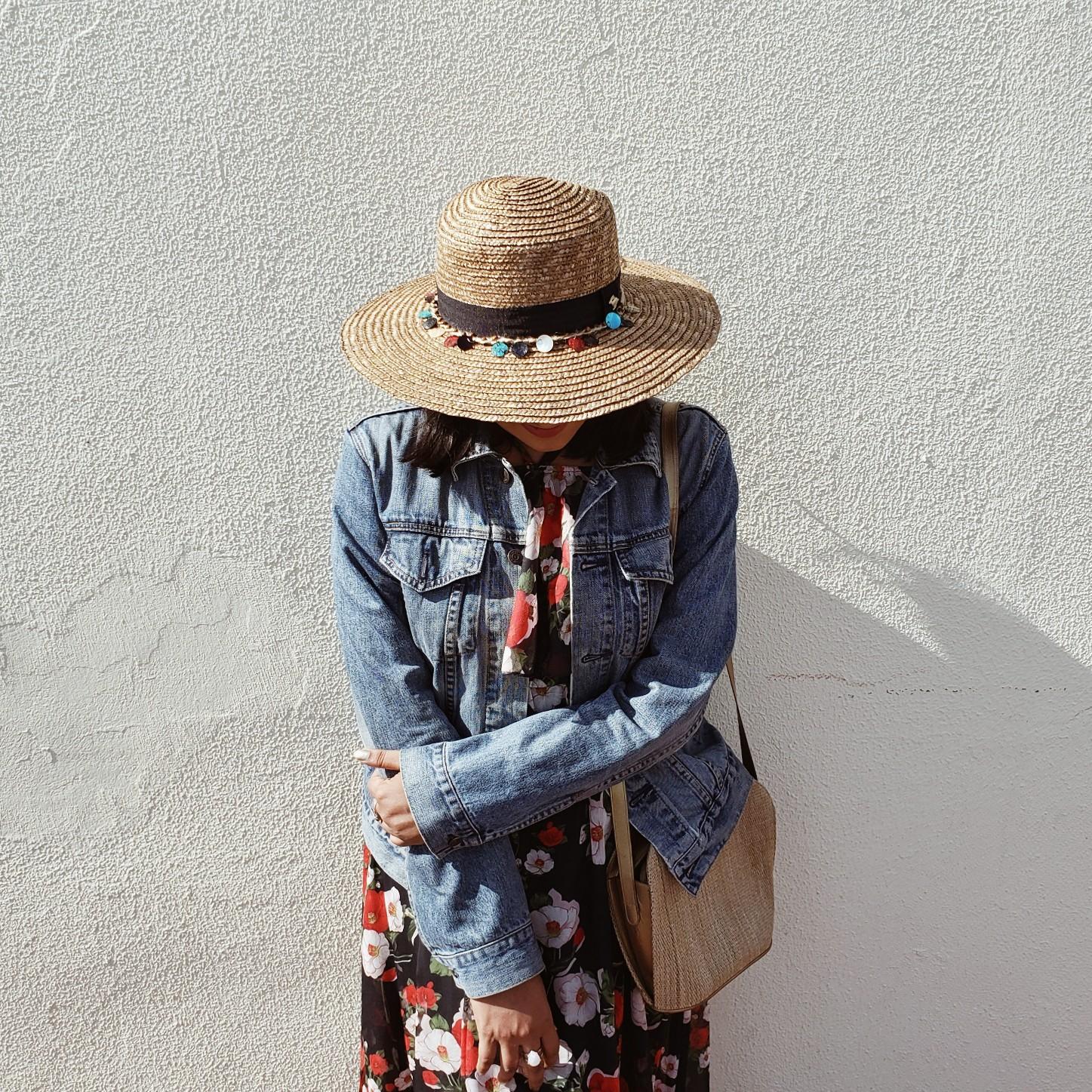 Fashion Blogger Free People Street Style Hat