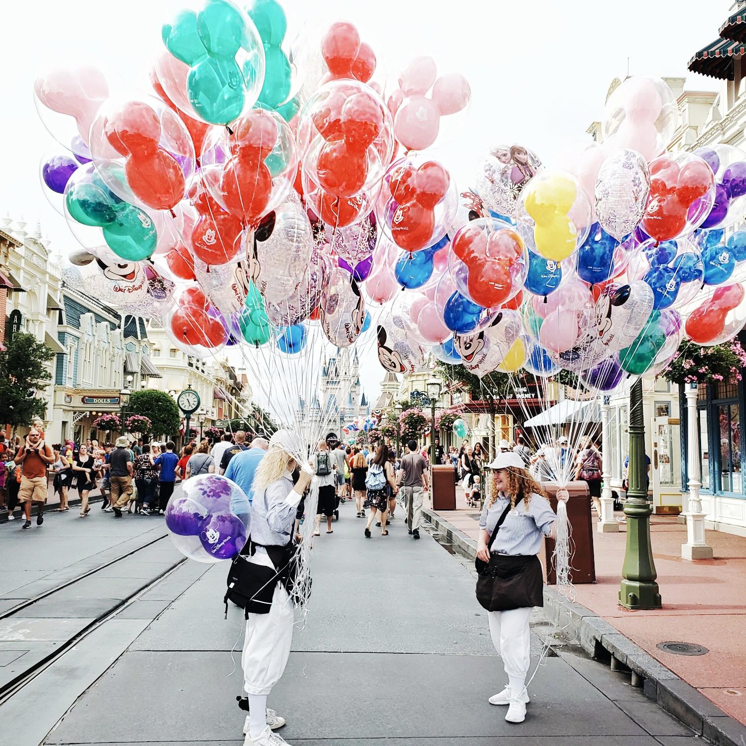 Disney Cast Members Chatting Walt Disney World Magic Kingdom