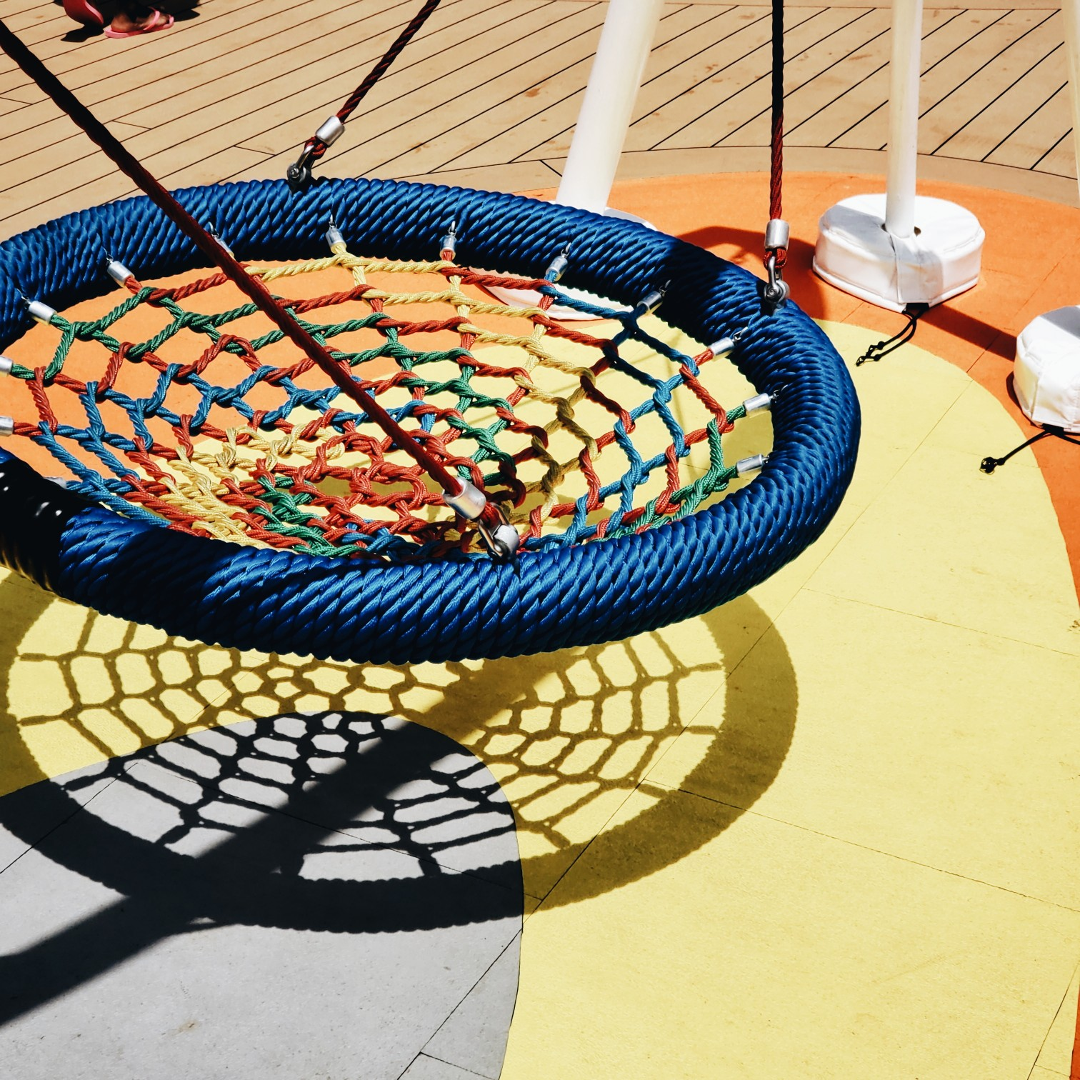 Royal Caribbean Mariner of the Seas Colorful String Hammock Swing