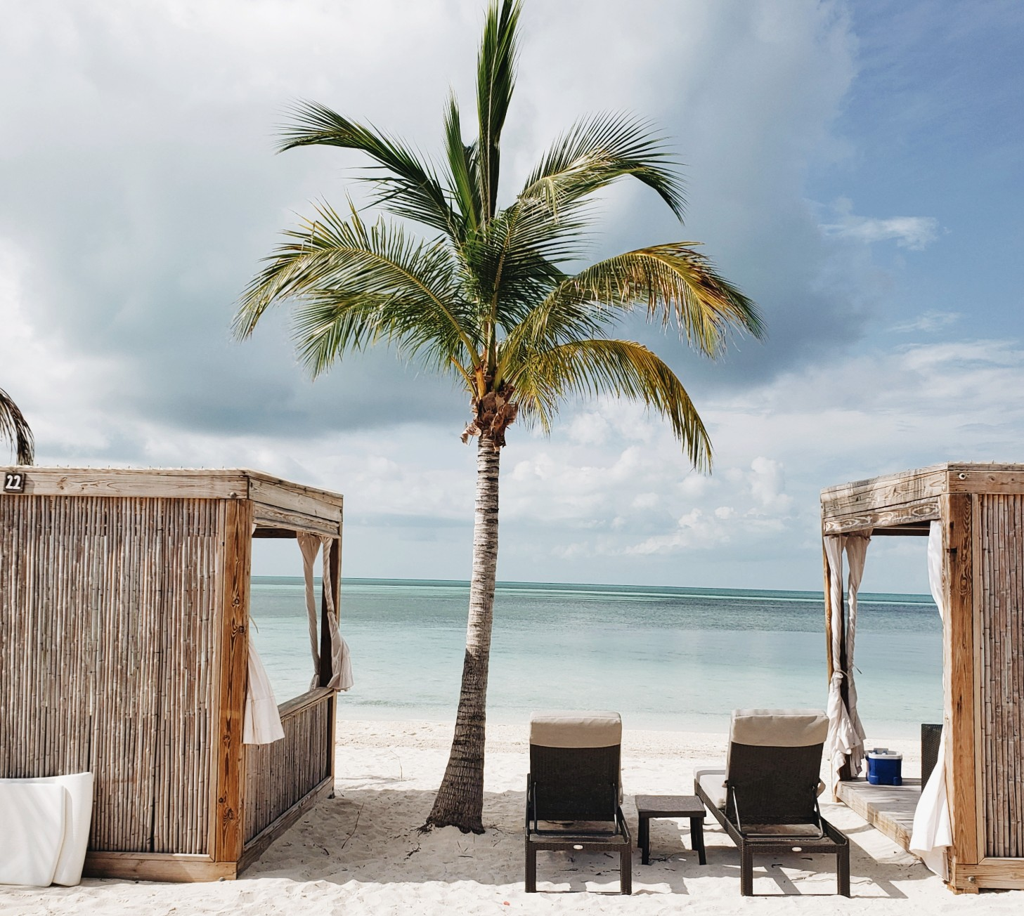 Cabanas in CocoCay Private Island