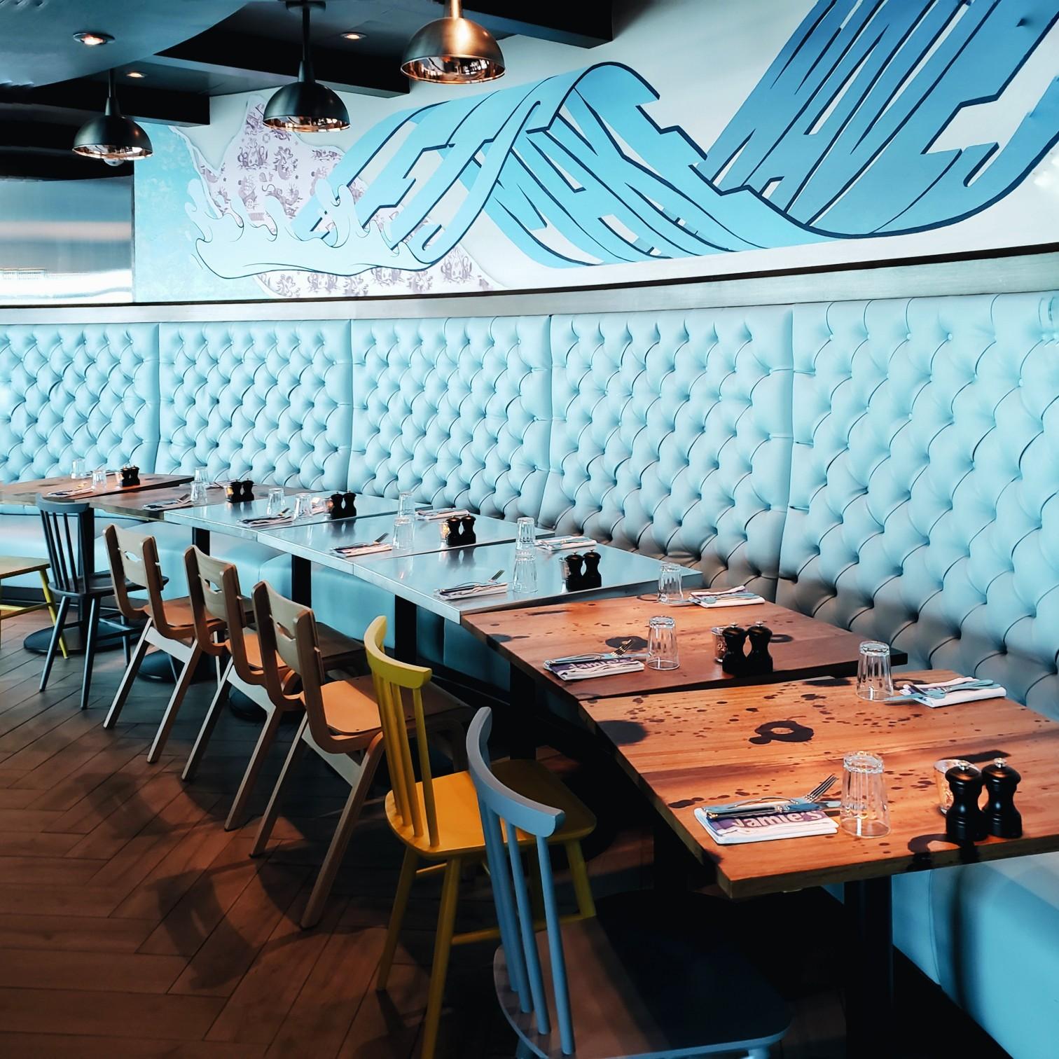 Jamie's Italian Restaurant Mariner of the Seas Royal Caribbean
