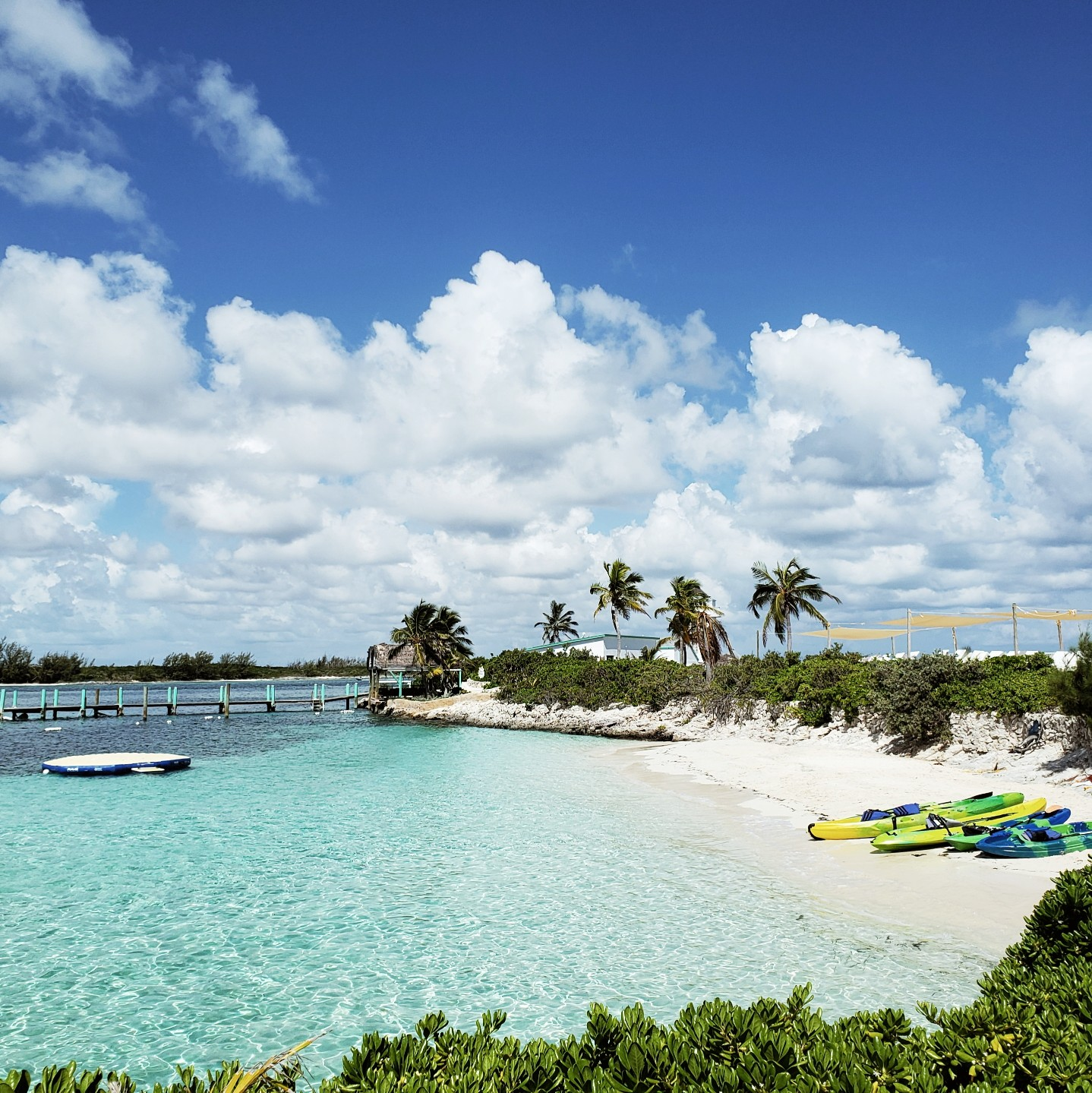 Pearl Island Bahamas Private Beach