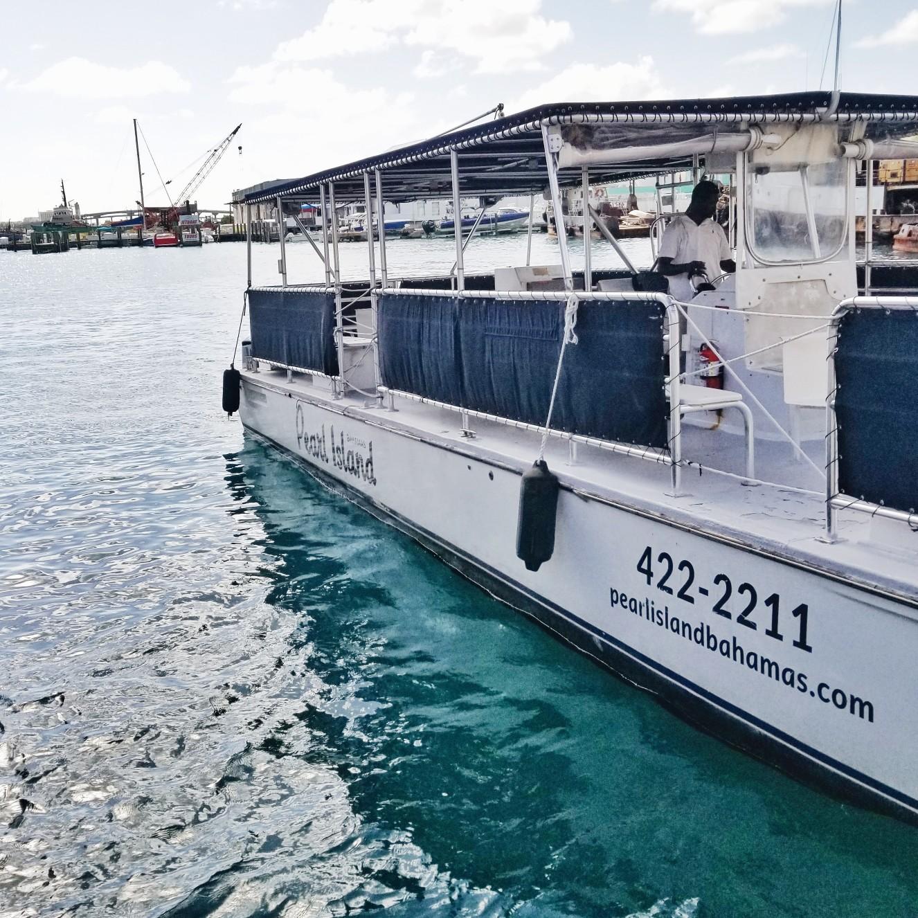 Pearl Island Boat Ride to Private Island