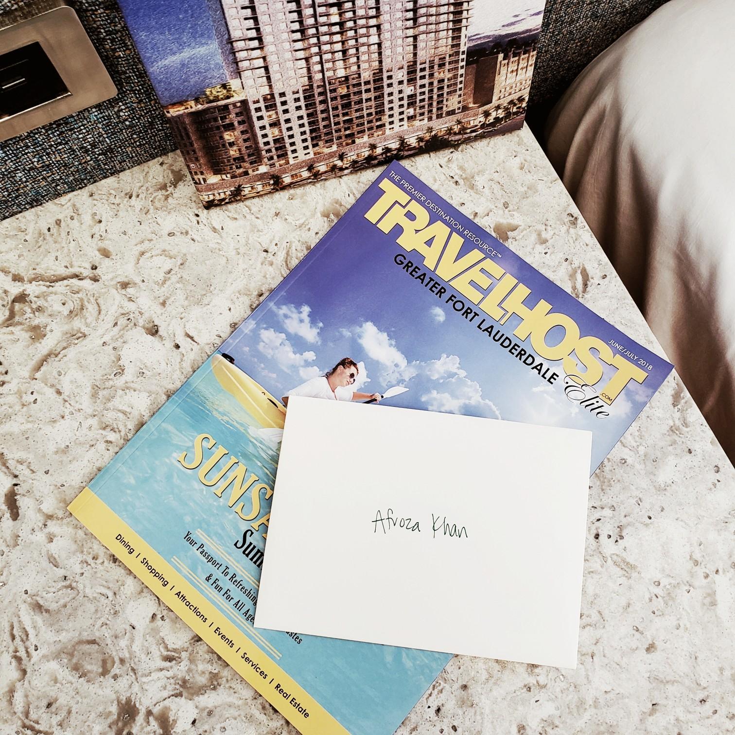 Travel Host Afroza Khan Miami Blogger