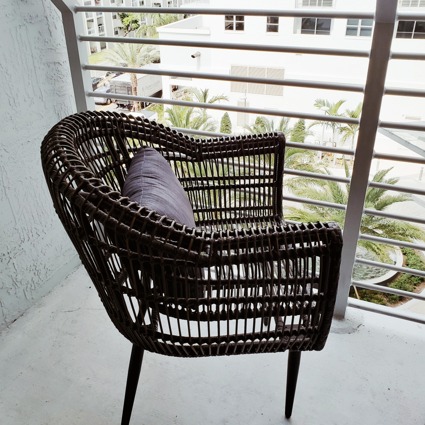 Circ Hotel Balcony Sitting Chair