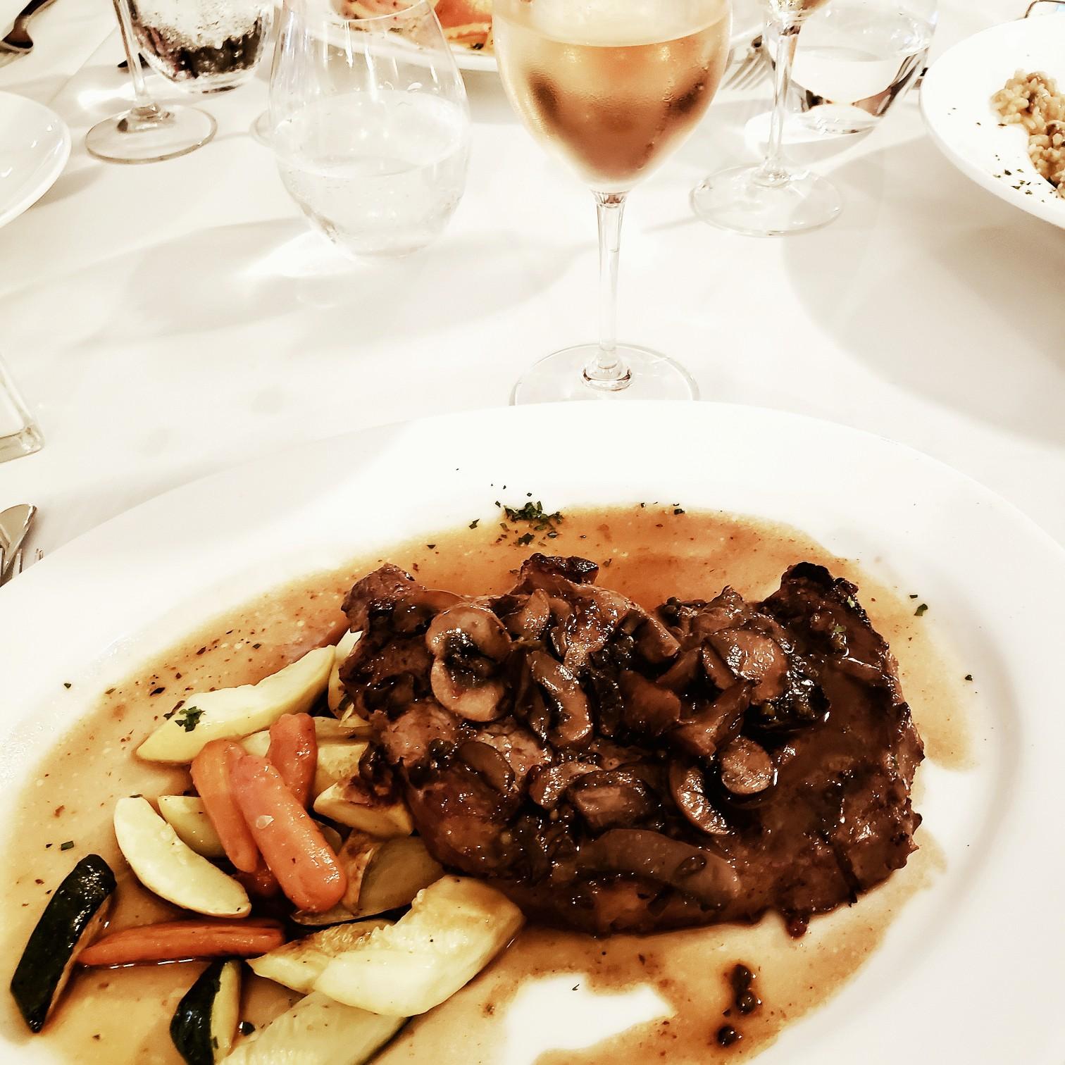 Steak Dinner at Olivia Restaurant & Bar